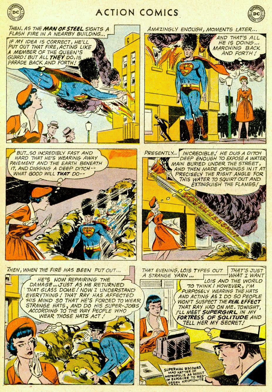 Action Comics (1938) 275 Page 8
