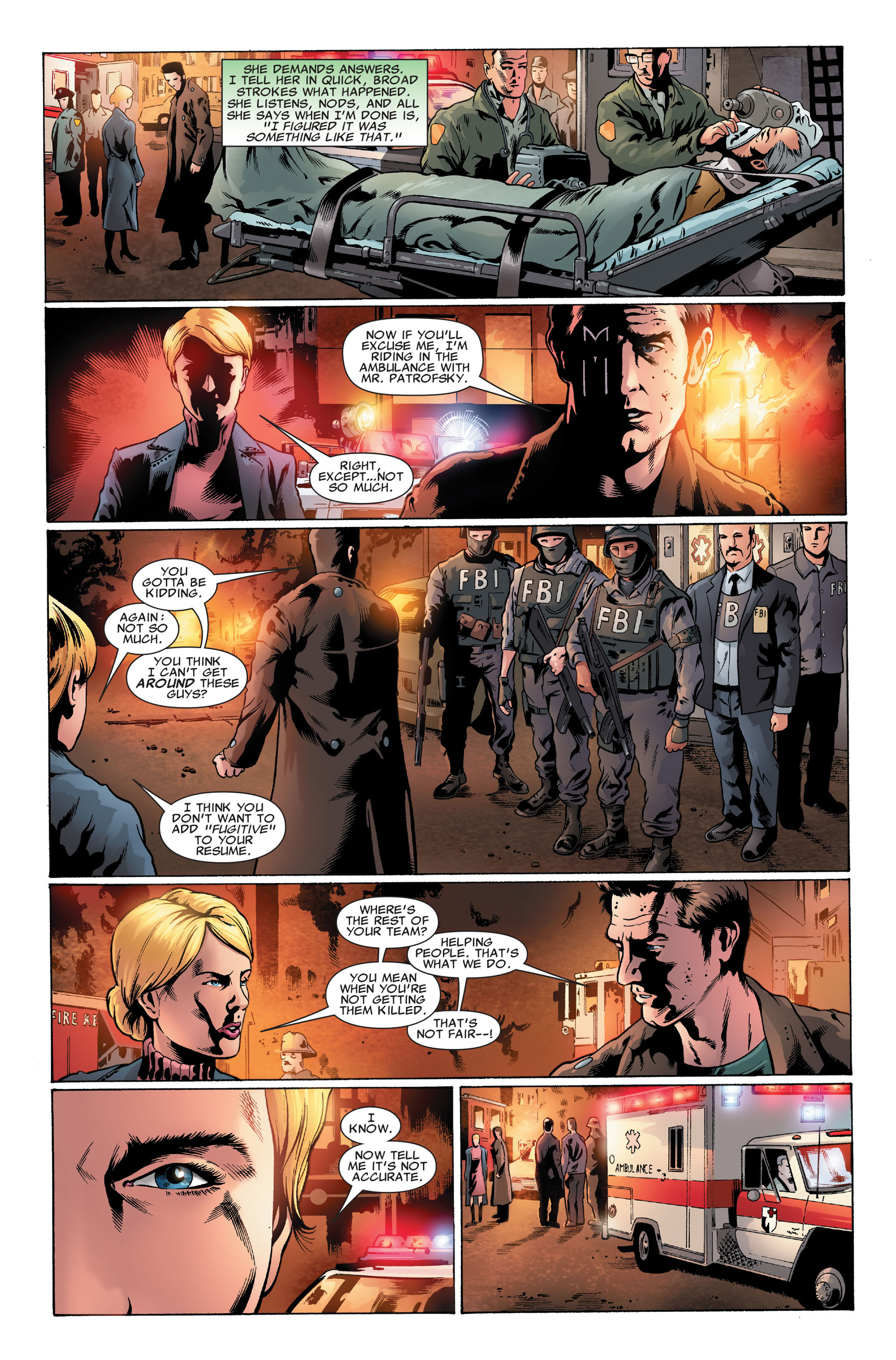 Read online X-Factor (2006) comic -  Issue #32 - 6