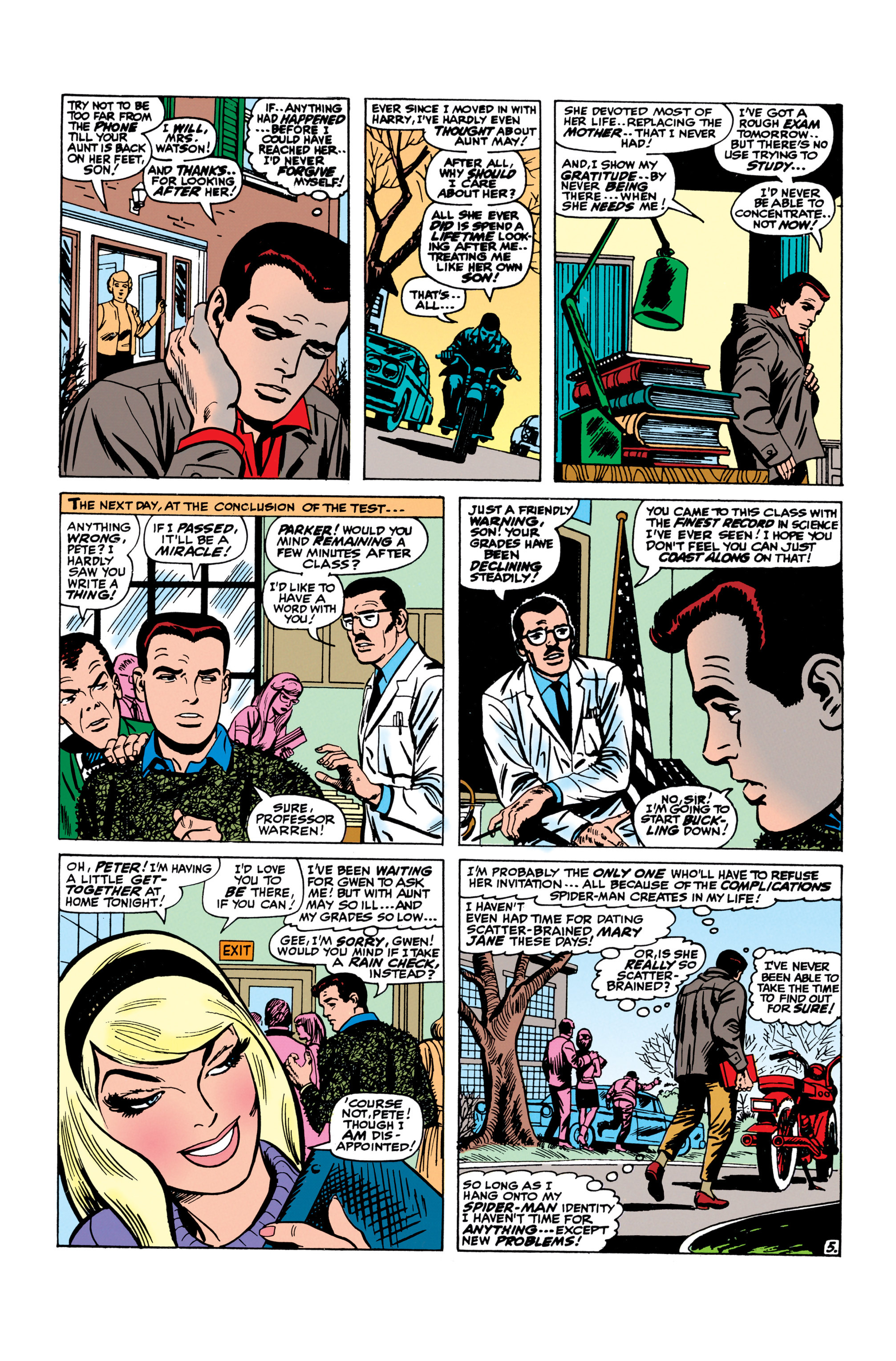 The Amazing Spider-Man (1963) 50 Page 5