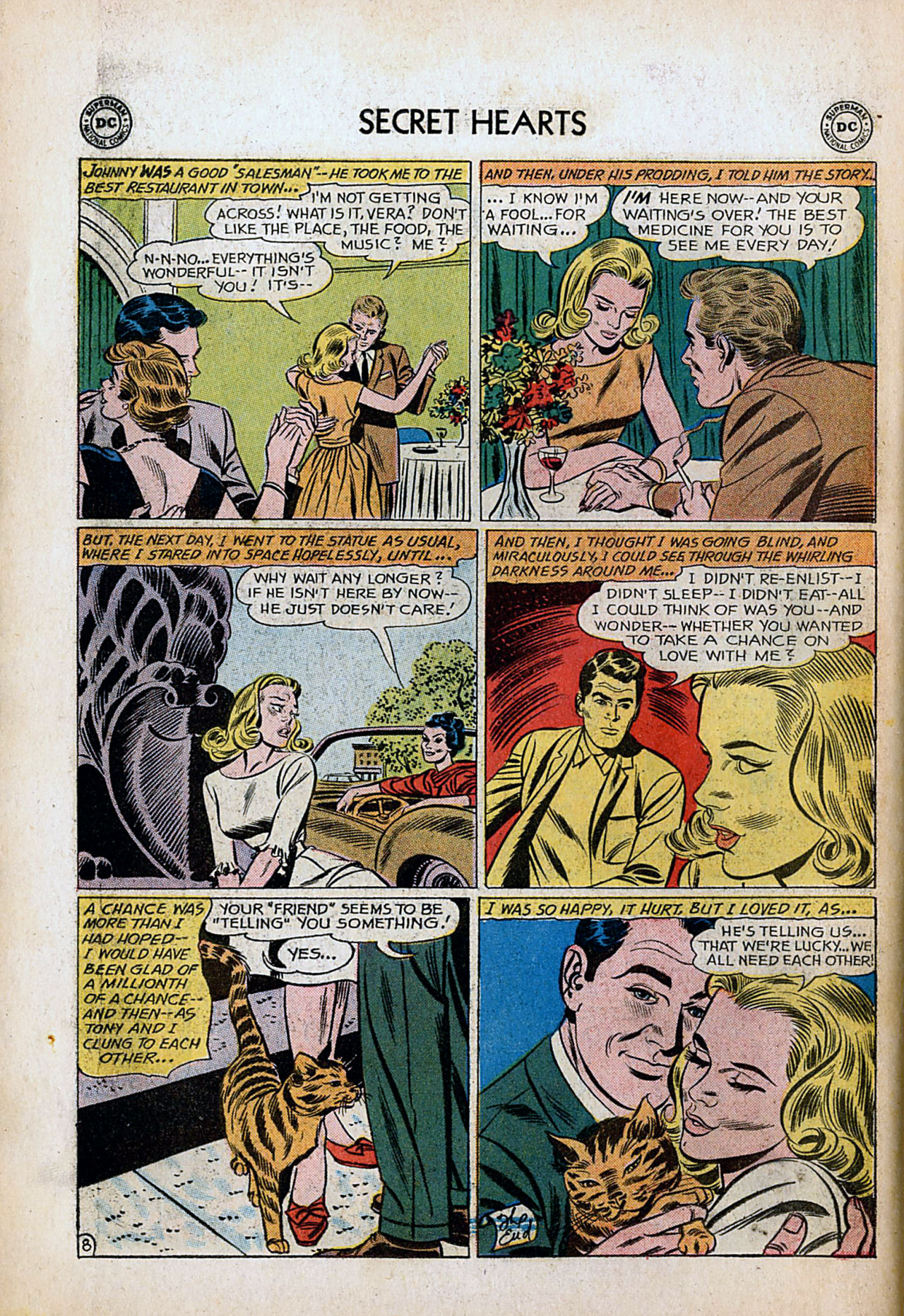 Read online Secret Hearts comic -  Issue #80 - 34