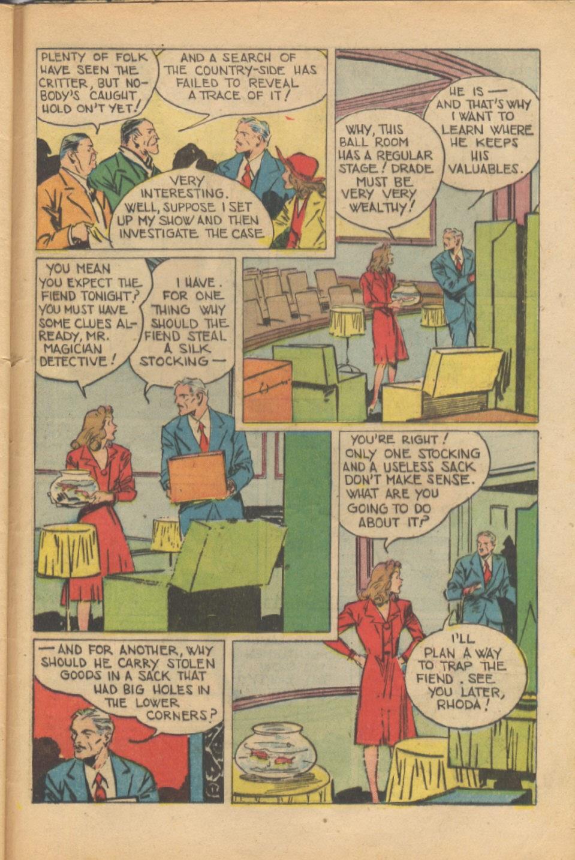 Read online Super-Magician Comics comic -  Issue #37 - 44