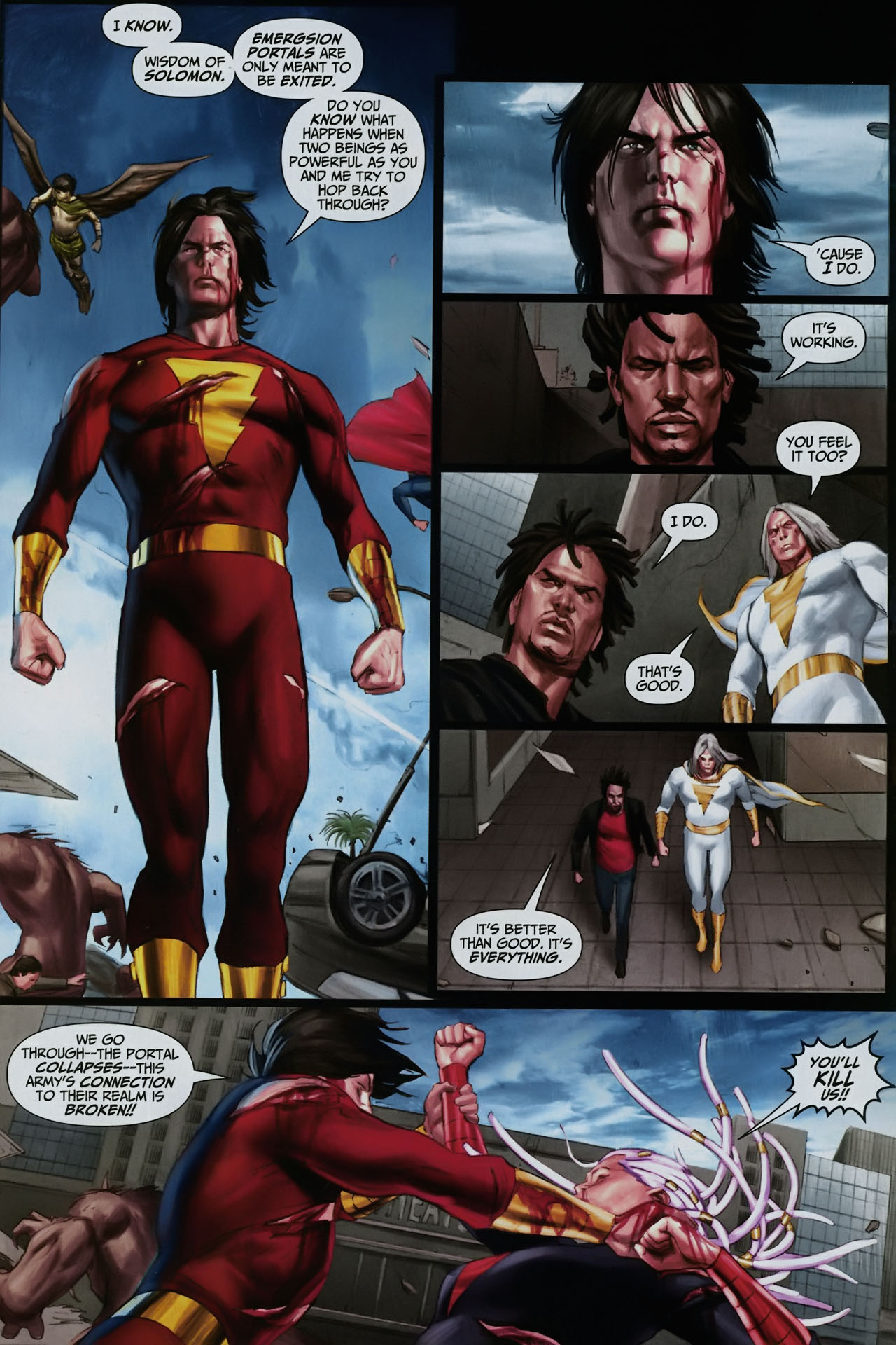 Read online Trials of Shazam comic -  Issue #12 - 19