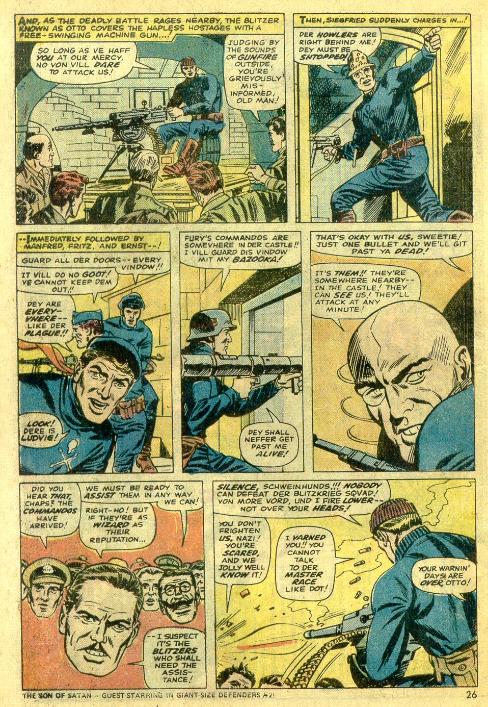 Read online Sgt. Fury comic -  Issue #122 - 28