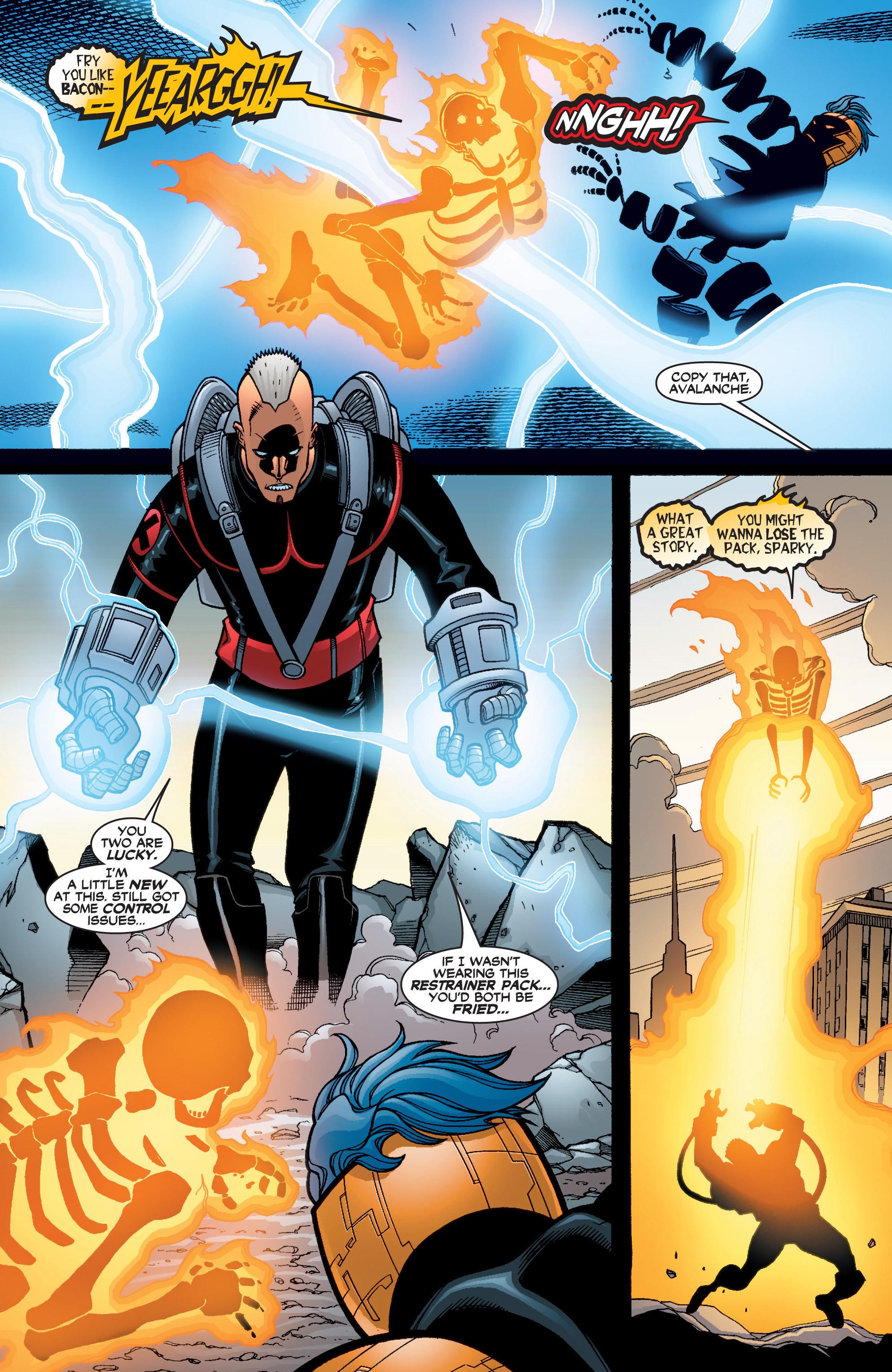 Read online Uncanny X-Men (1963) comic -  Issue #402 - 11