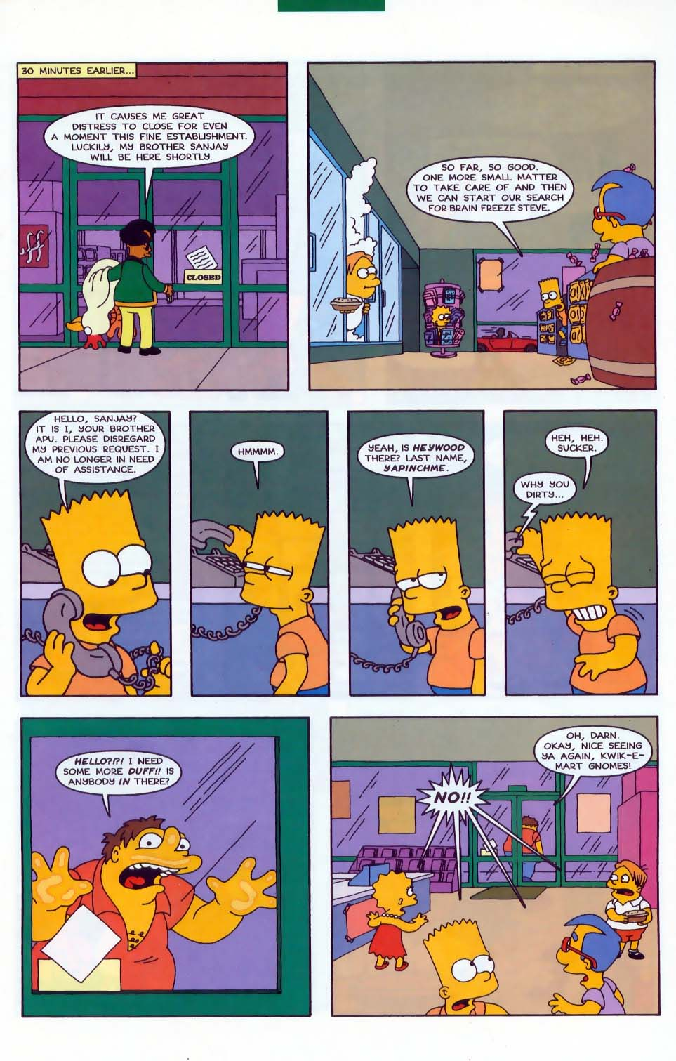 Read online Simpsons Comics comic -  Issue #43 - 14