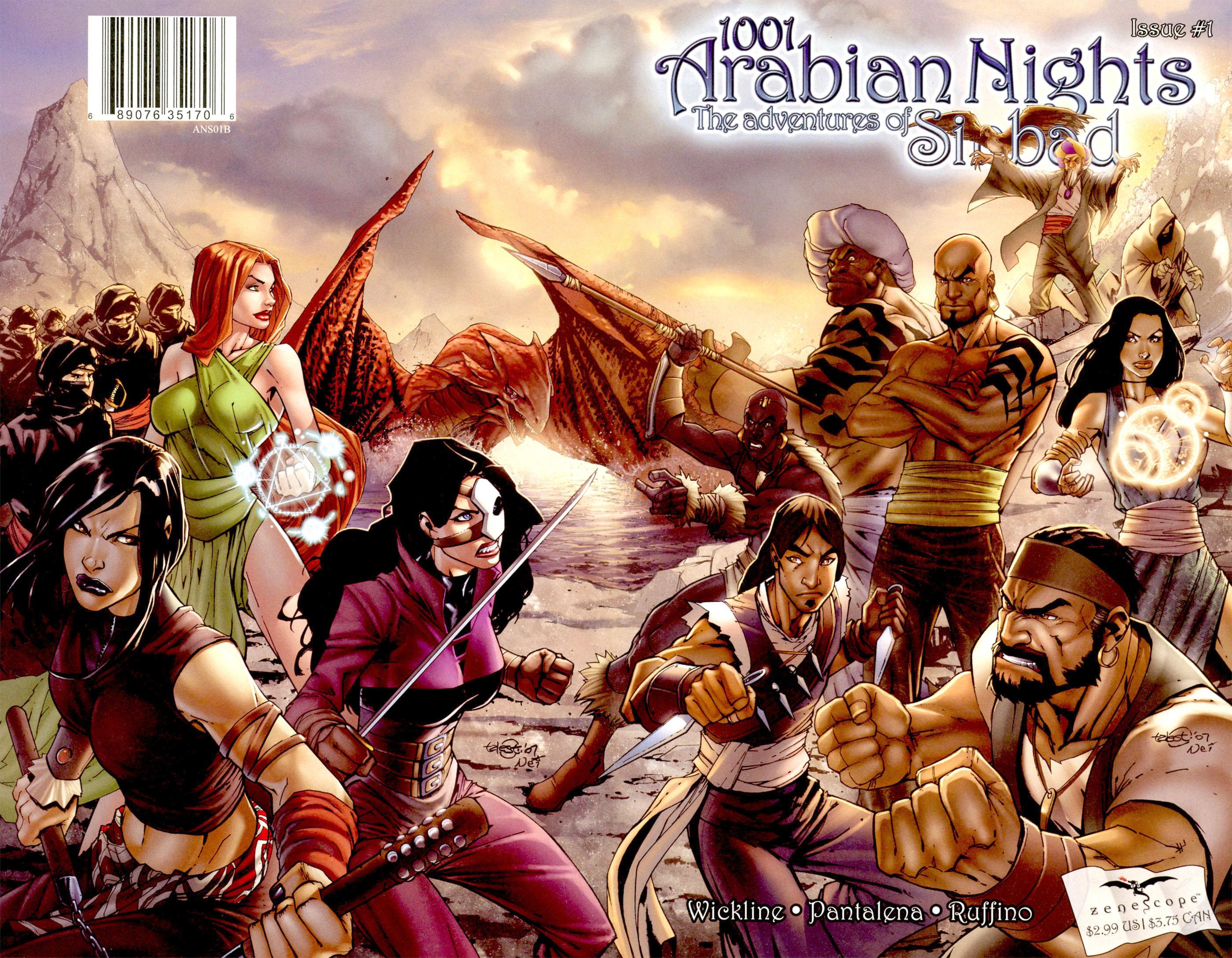 Read online 1001 Arabian Nights: The Adventures of Sinbad comic -  Issue #1 - 2