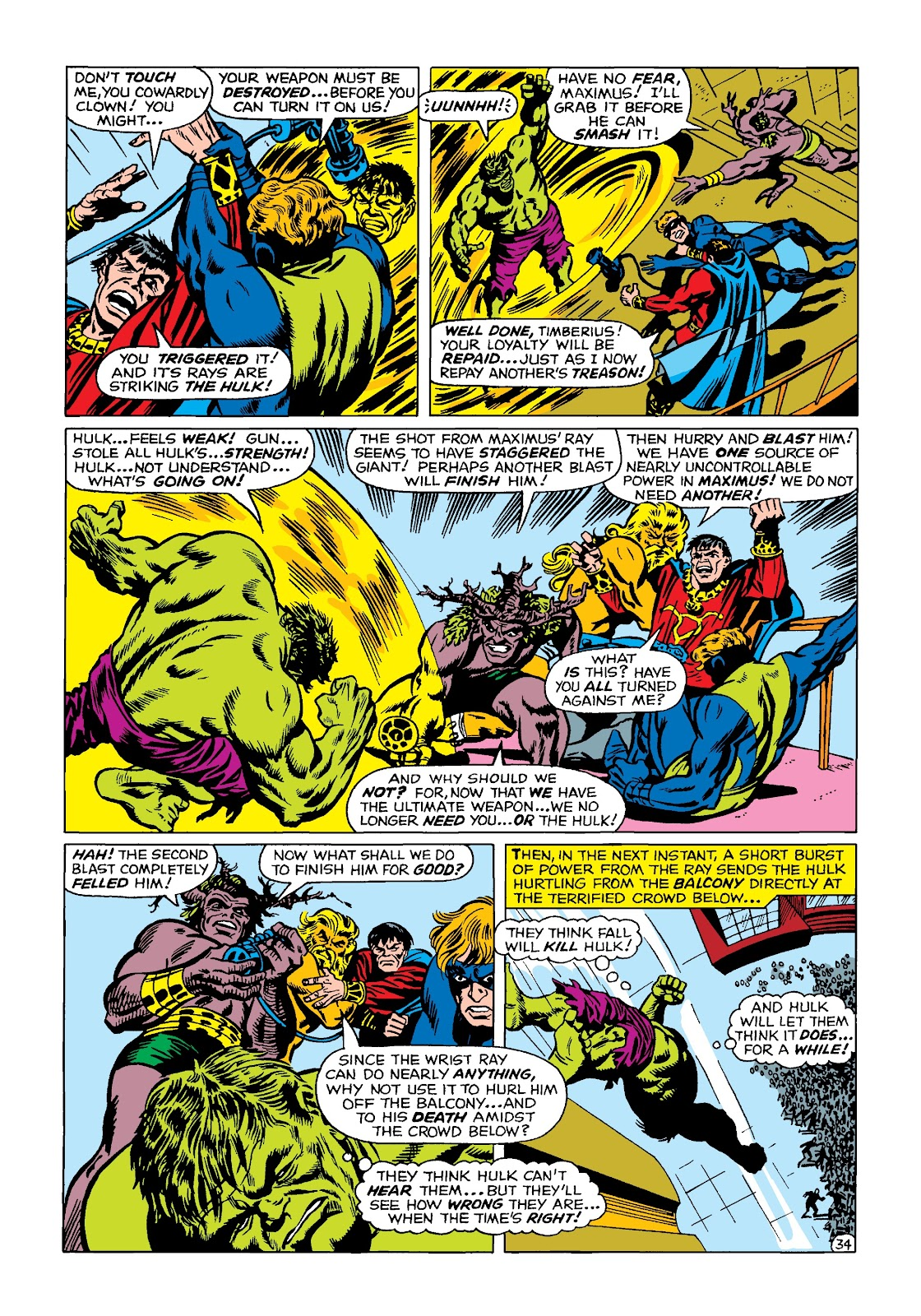 Read online Marvel Masterworks: The Incredible Hulk comic -  Issue # TPB 4 (Part 2) - 67