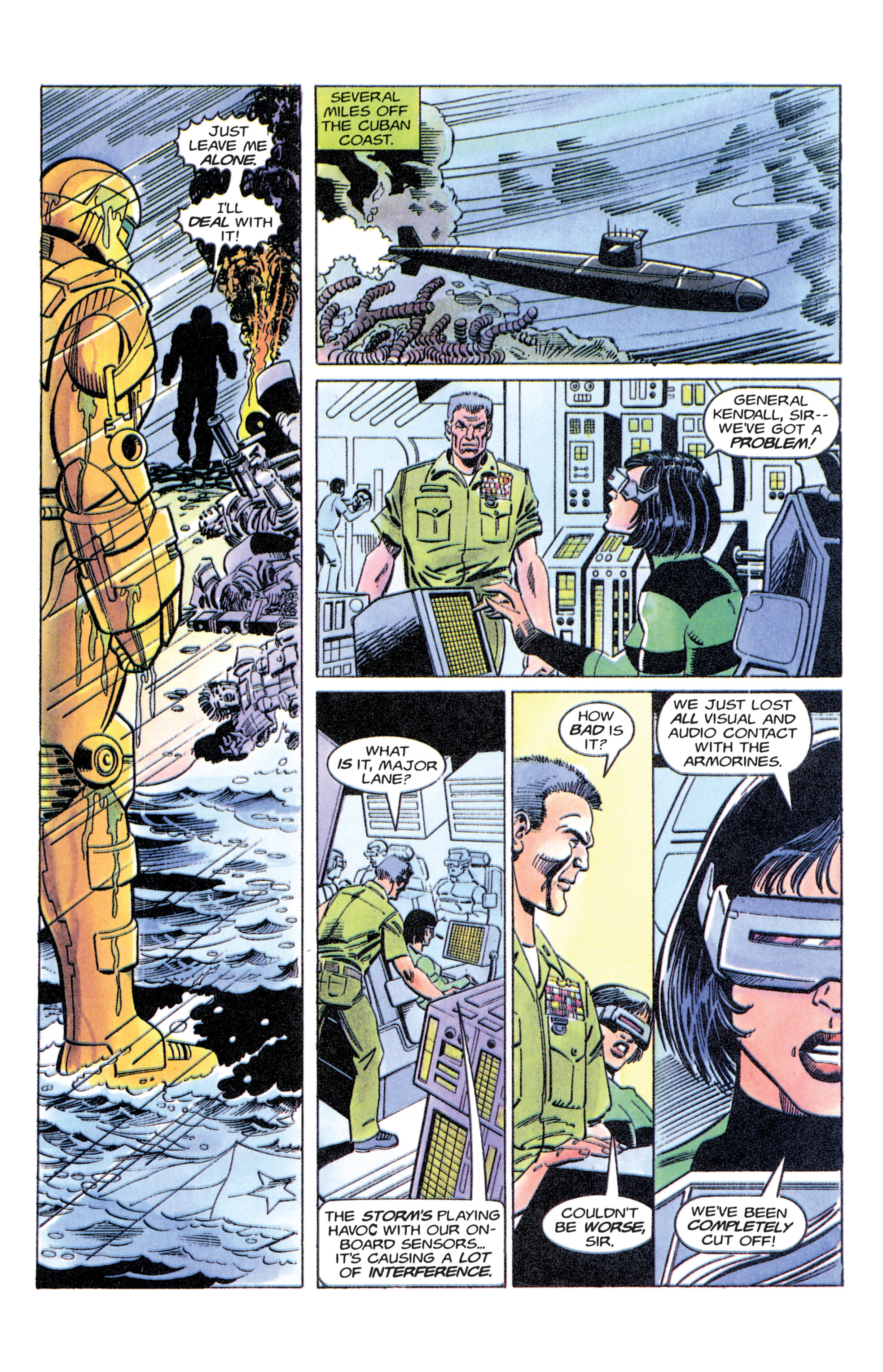 Read online Armorines comic -  Issue #11 - 10