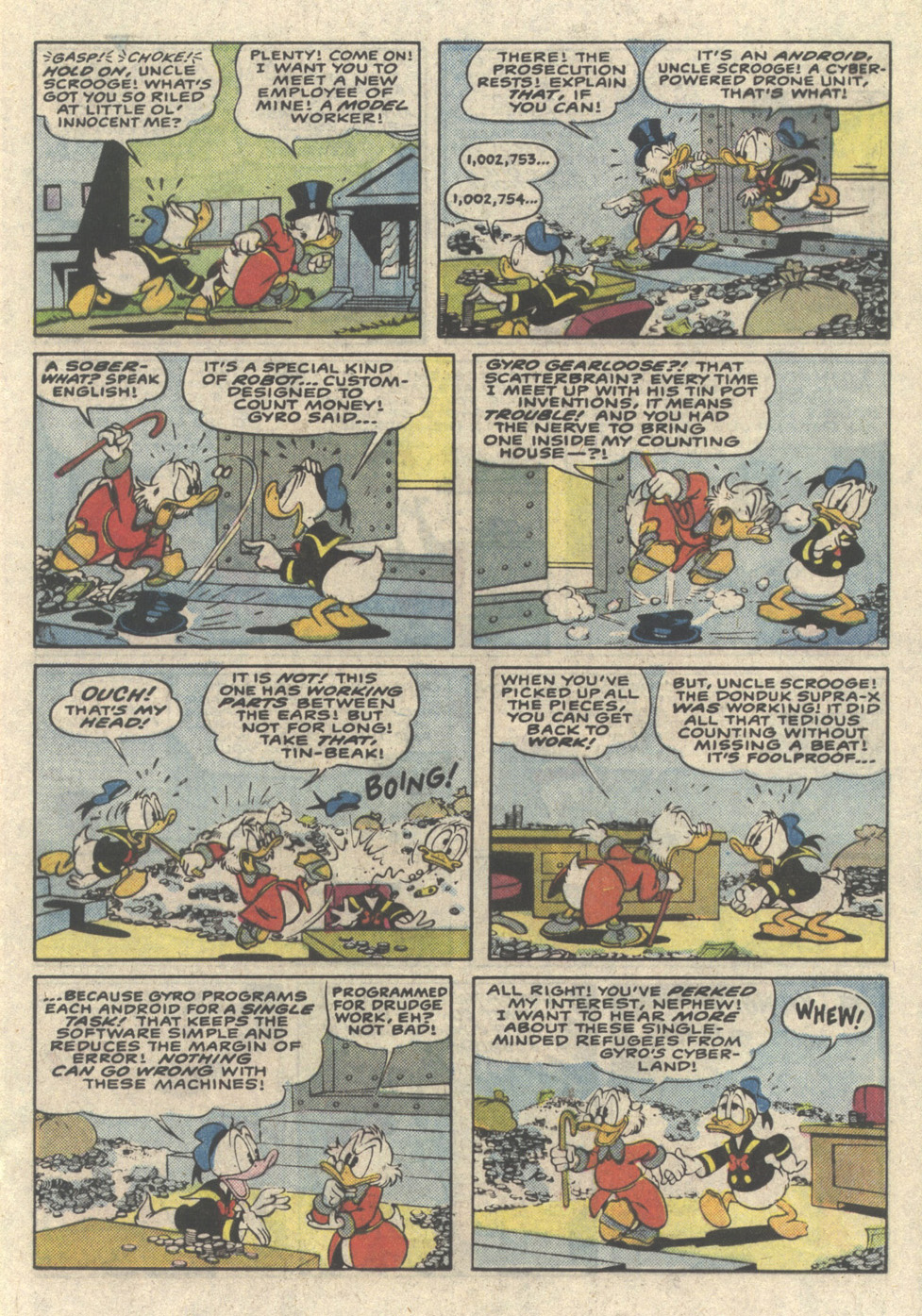Read online Uncle Scrooge (1953) comic -  Issue #216 - 17