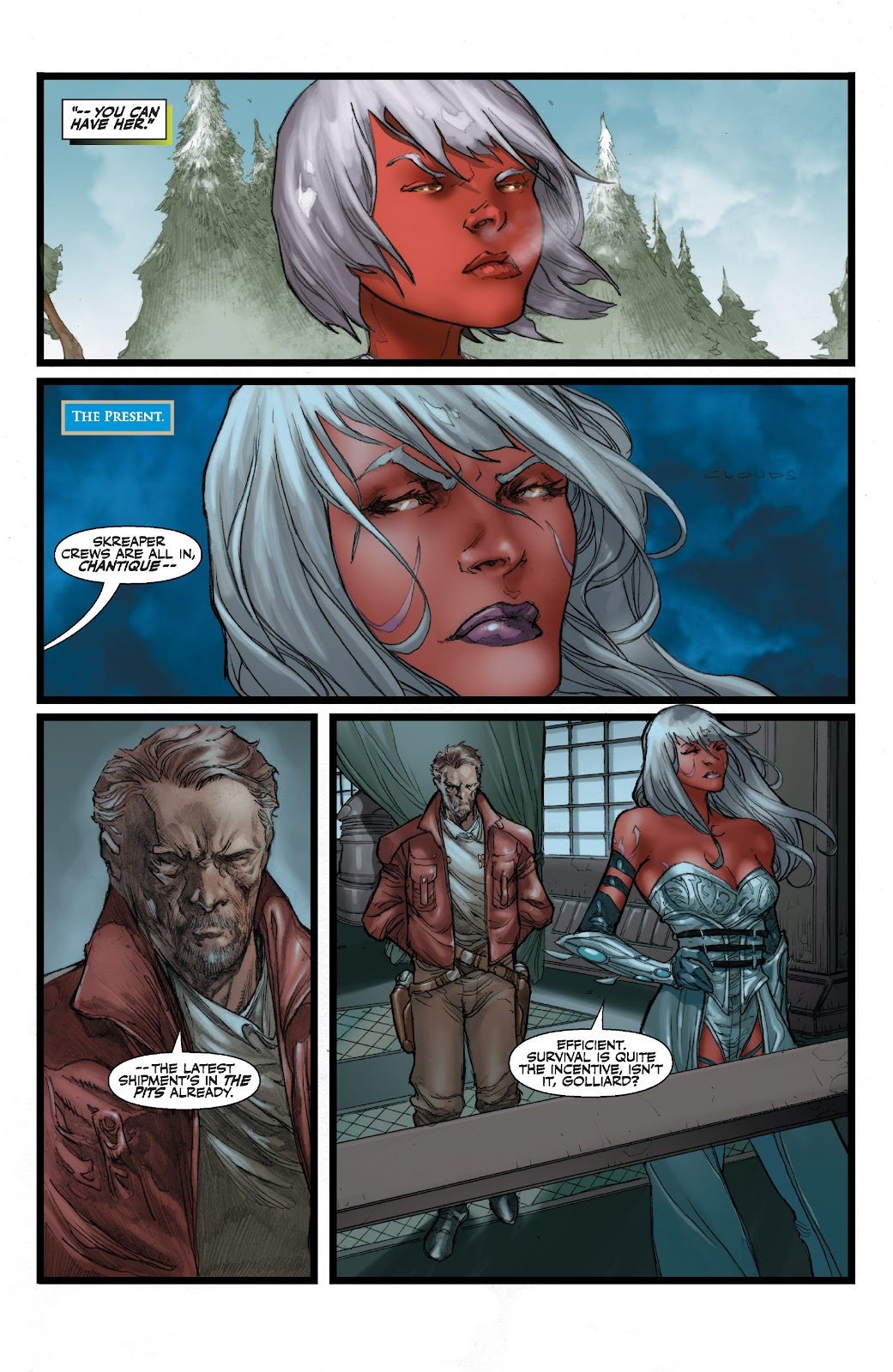 Read online Star Wars Legends: The Old Republic - Epic Collection comic -  Issue # TPB 3 (Part 2) - 70