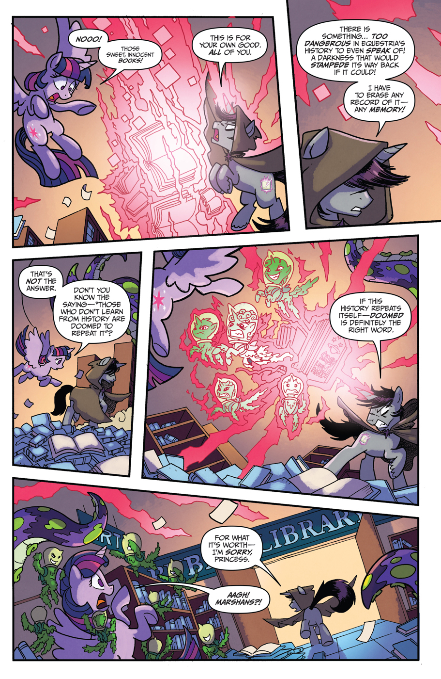 Read online My Little Pony: Friendship is Magic comic -  Issue #52 - 6