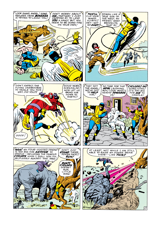 Read online Uncanny X-Men (1963) comic -  Issue #3 - 18