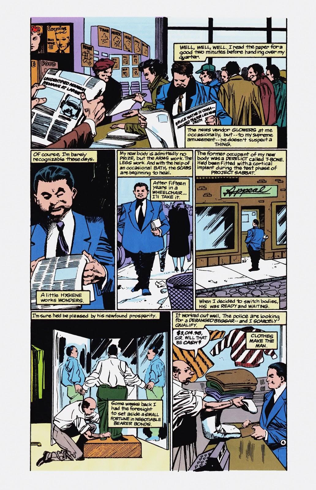 Read online Detective Comics (1937) comic -  Issue # _TPB Batman - Blind Justice (Part 1) - 91