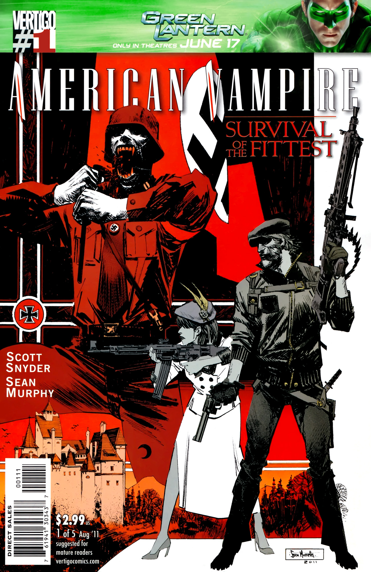 Read online American Vampire: Survival of the Fittest comic -  Issue #1 - 1