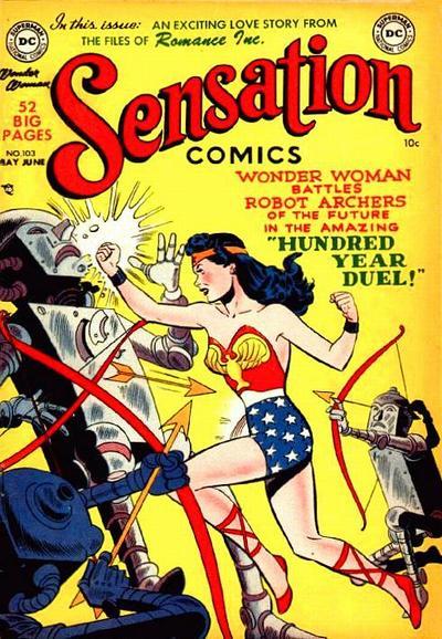 Read online Sensation (Mystery) Comics comic -  Issue #103 - 1