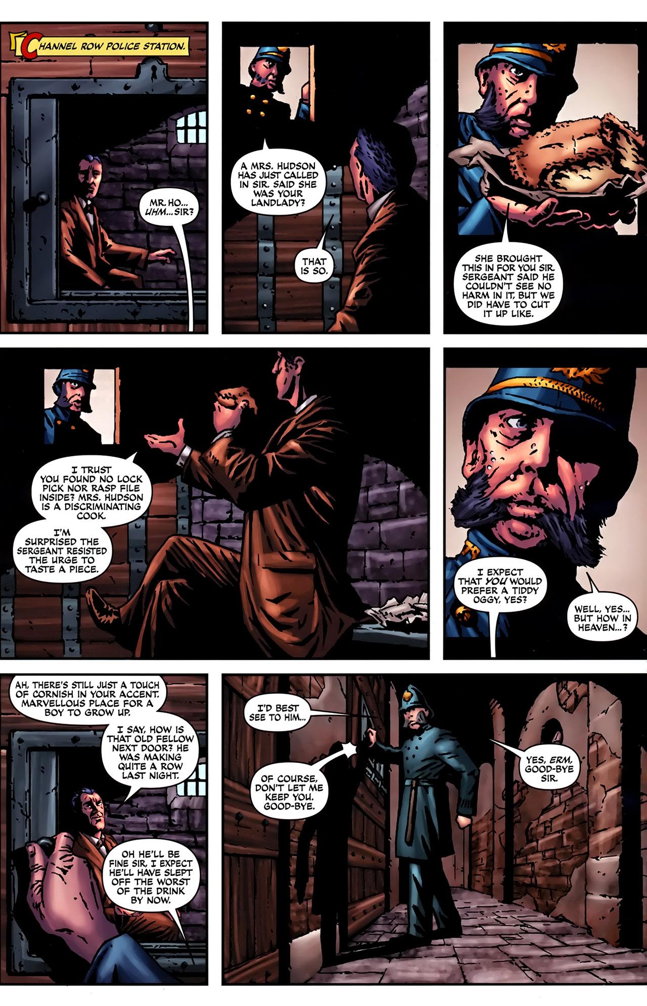 Read online Sherlock Holmes (2009) comic -  Issue #2 - 6