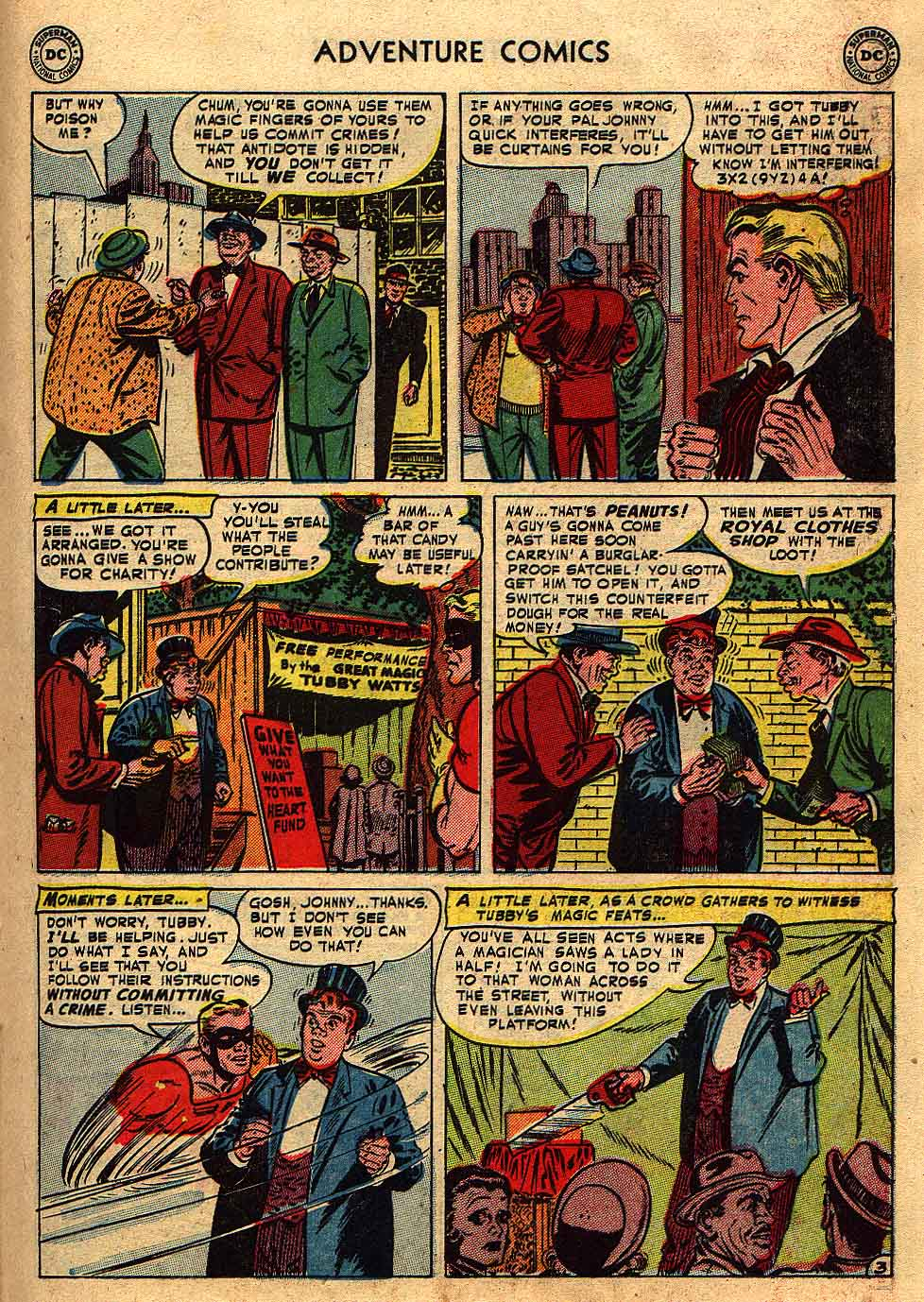 Read online Adventure Comics (1938) comic -  Issue #175 - 25