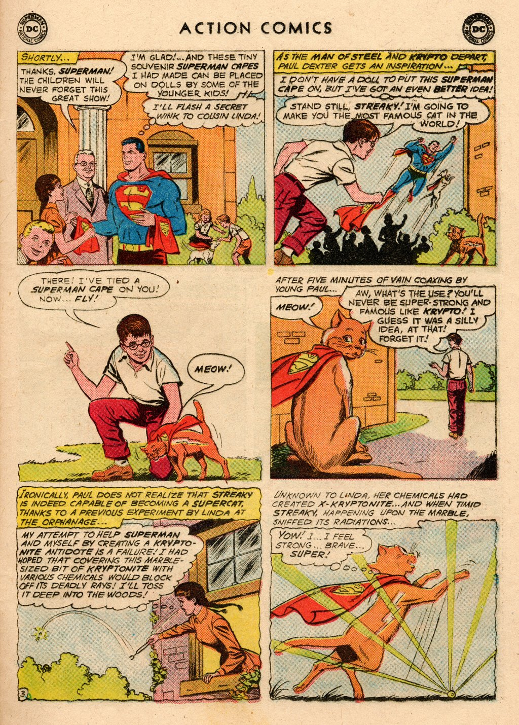 Read online Action Comics (1938) comic -  Issue #266 - 21