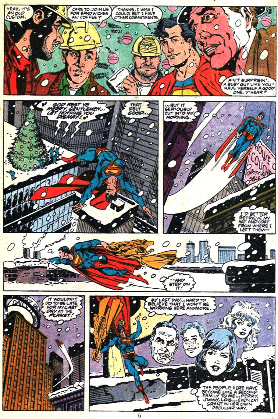 Read online Adventures of Superman (1987) comic -  Issue #462 - 6