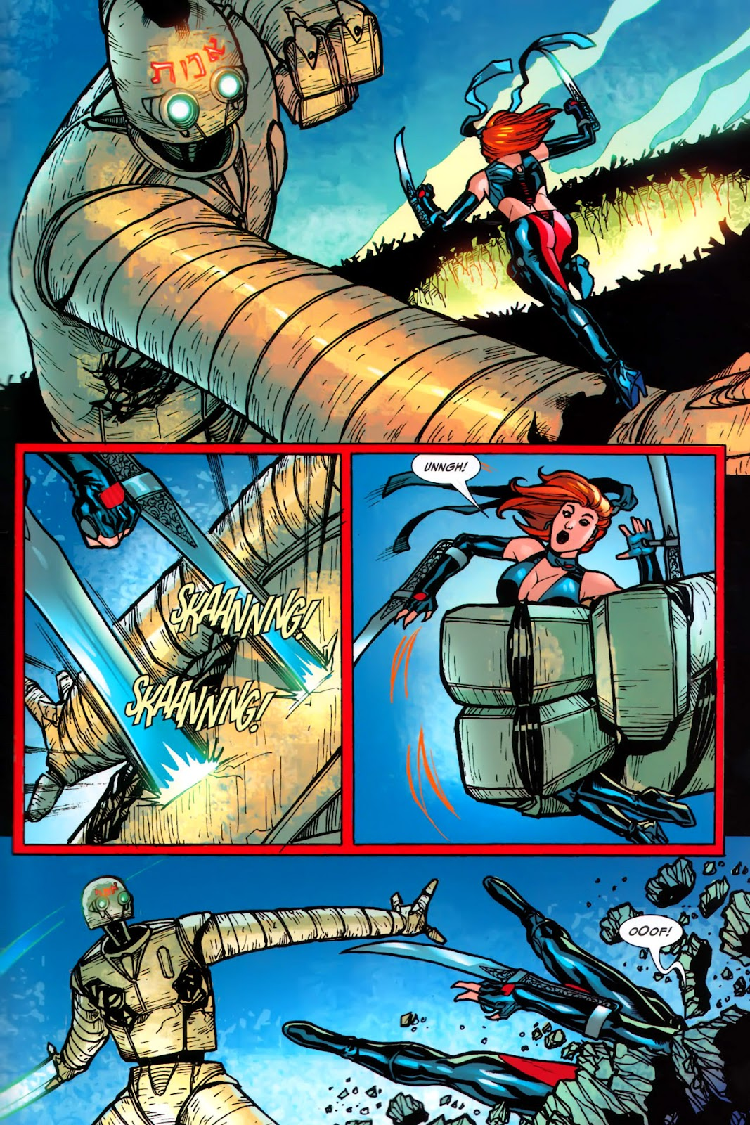 BloodRayne: Automaton issue Full - Page 21