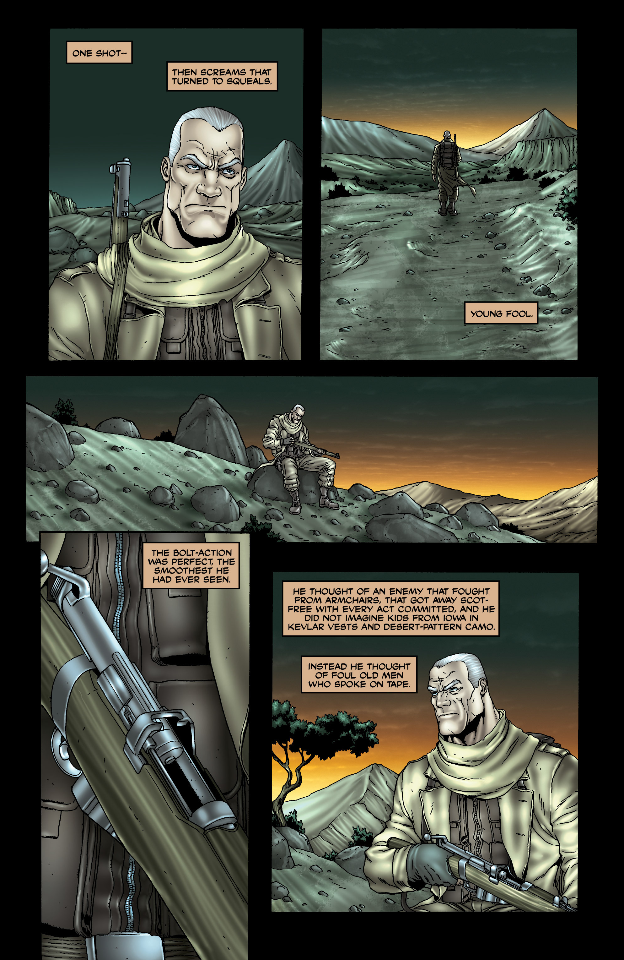 Read online 303 comic -  Issue #3 - 21