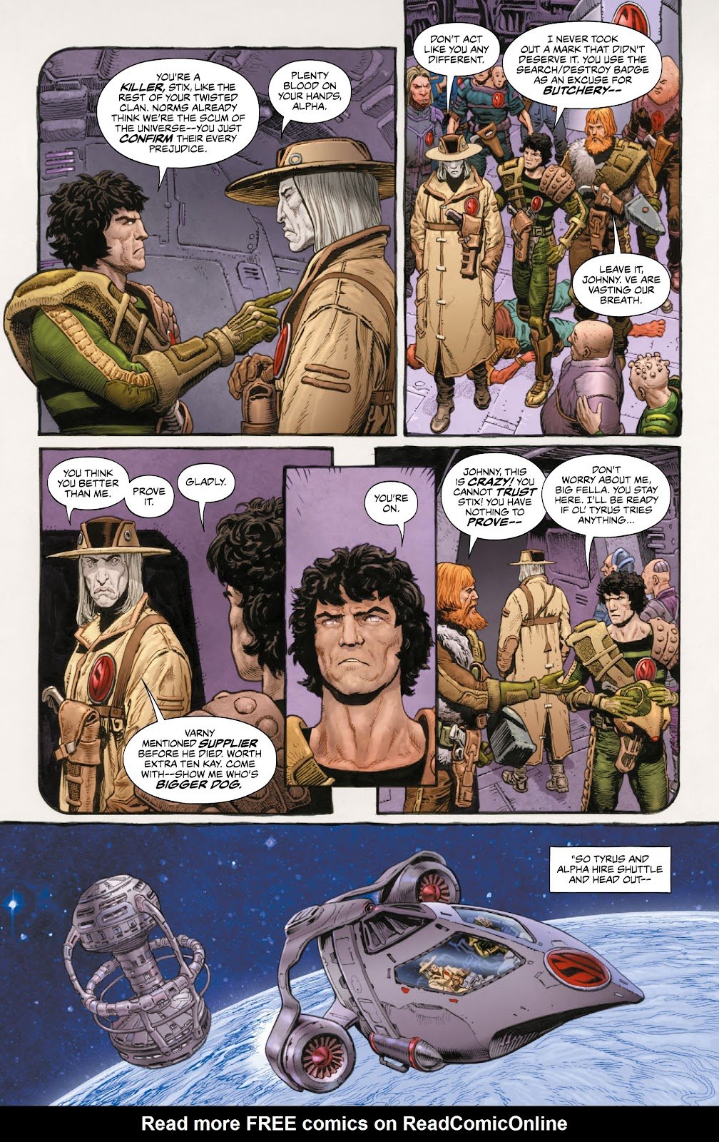 Read online 2000 AD Villains Special comic -  Issue # Full - 26