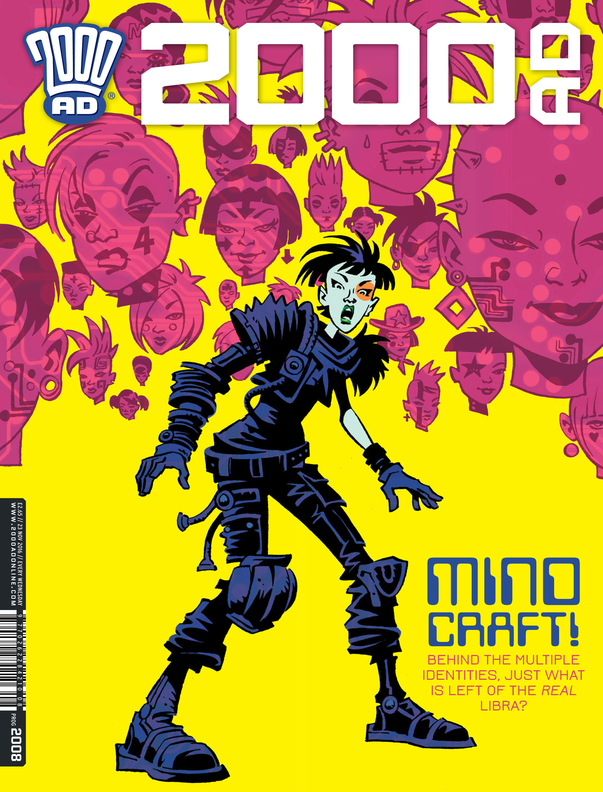 Read online 2000 AD comic -  Issue #2008 - 1