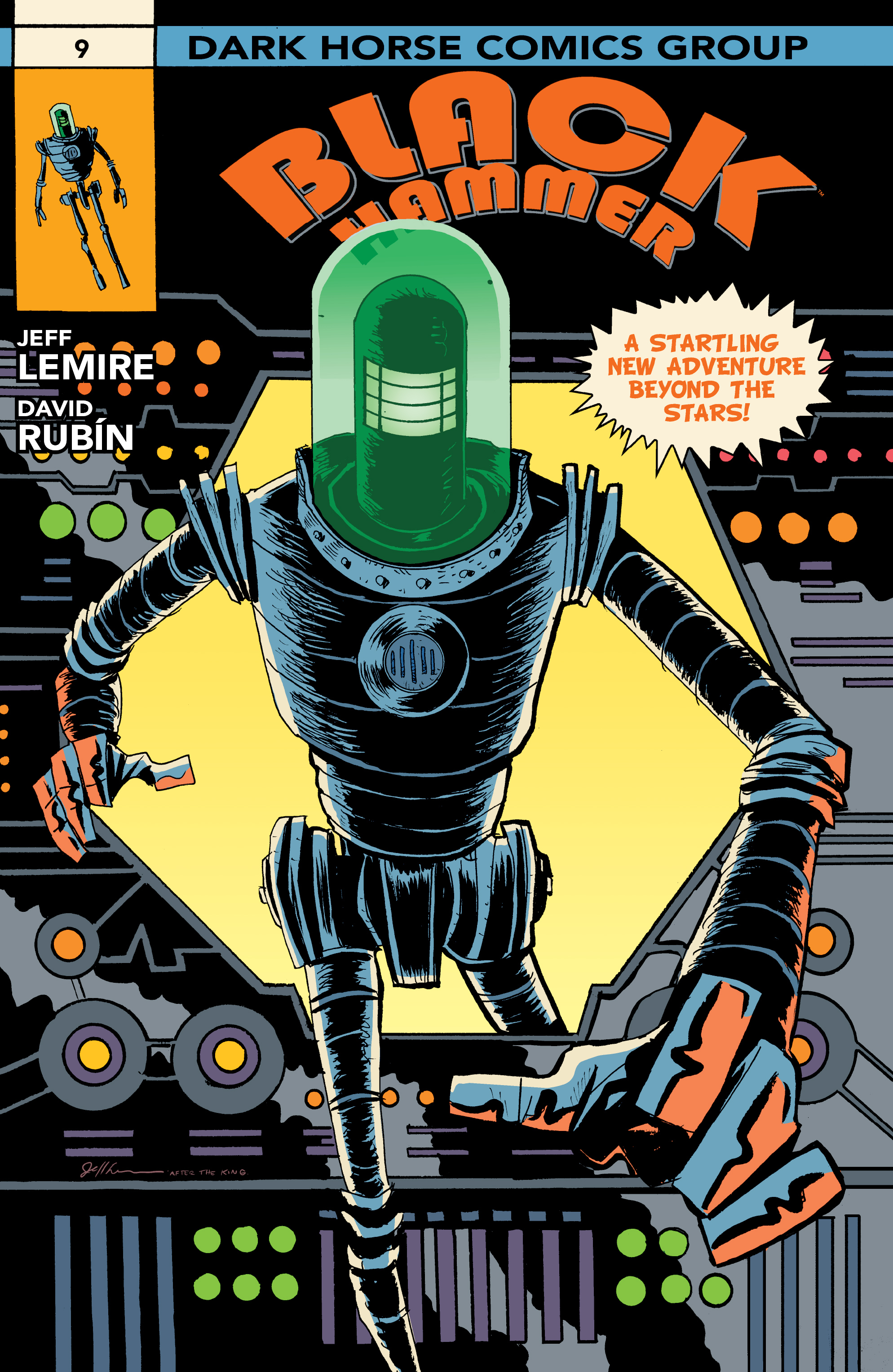 Read online Black Hammer comic -  Issue #9 - 2