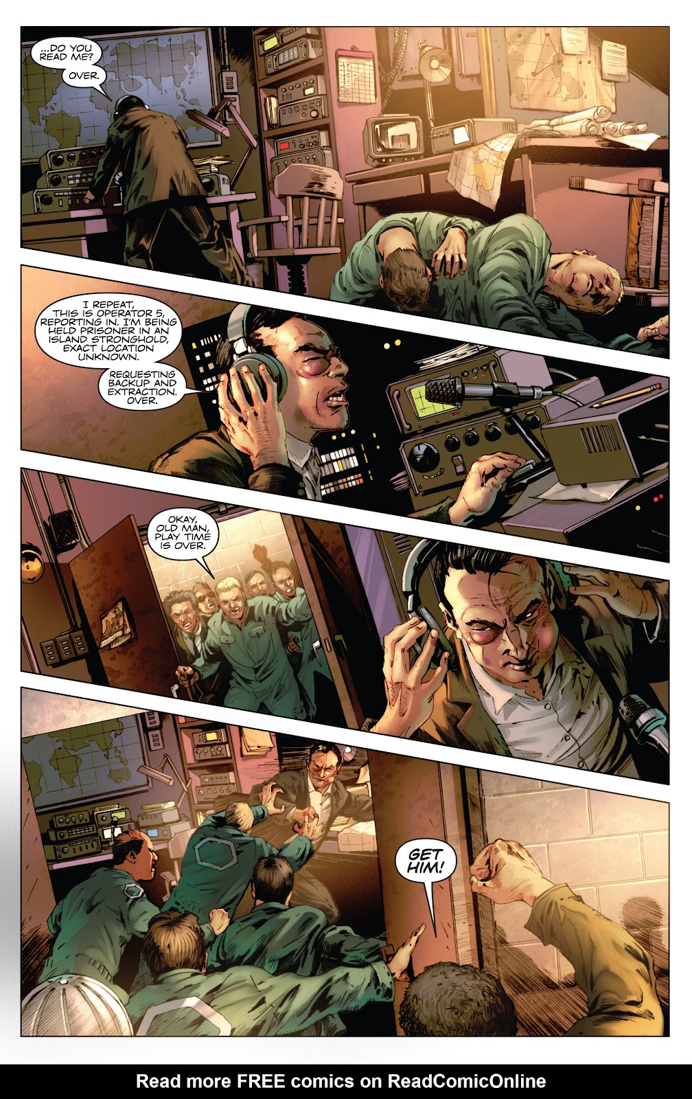 Read online Codename: Action comic -  Issue #3 - 5