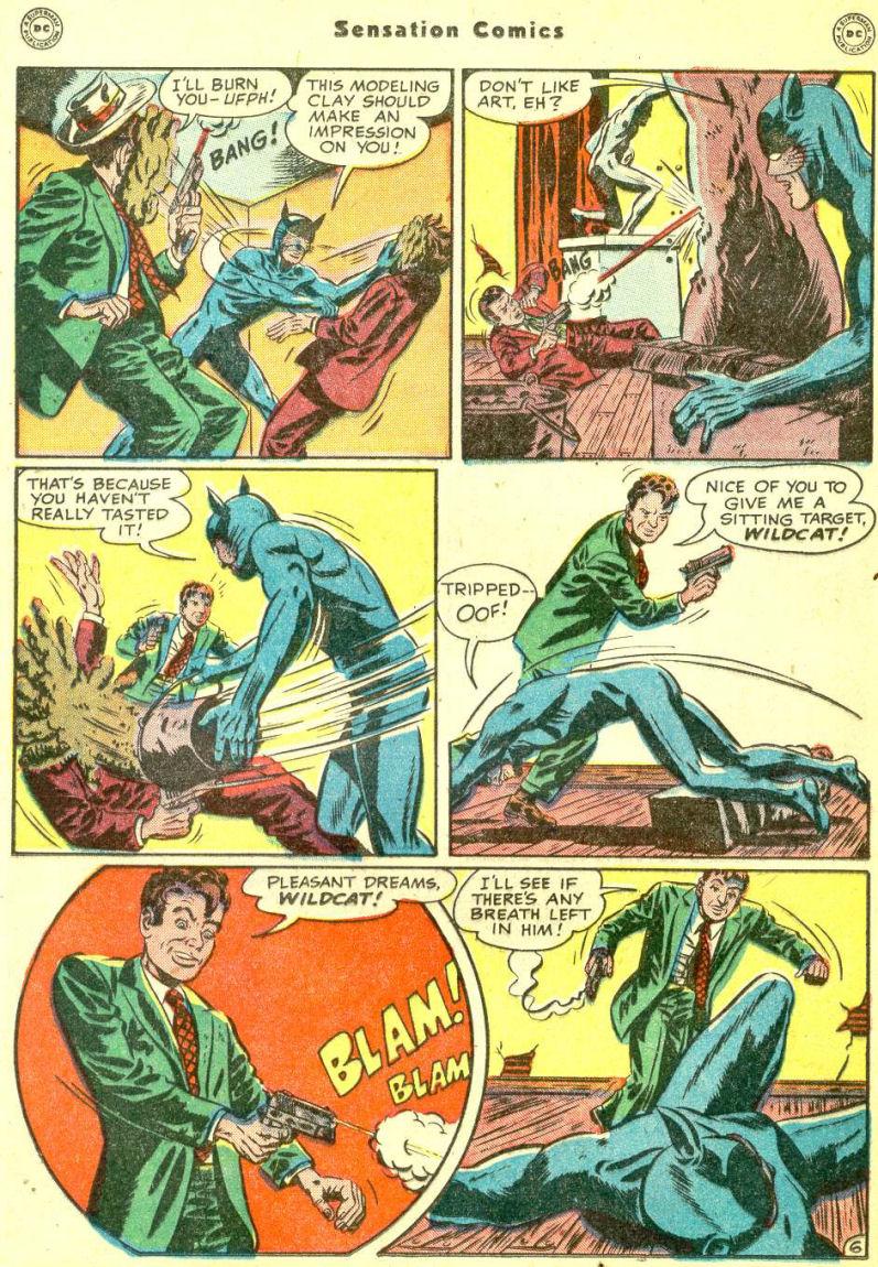 Read online Sensation (Mystery) Comics comic -  Issue #87 - 22