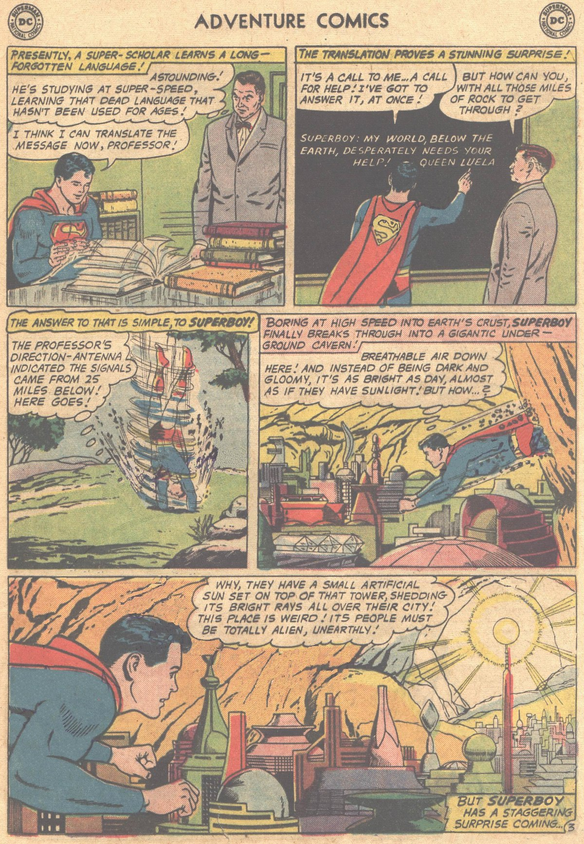 Read online Adventure Comics (1938) comic -  Issue #302 - 6