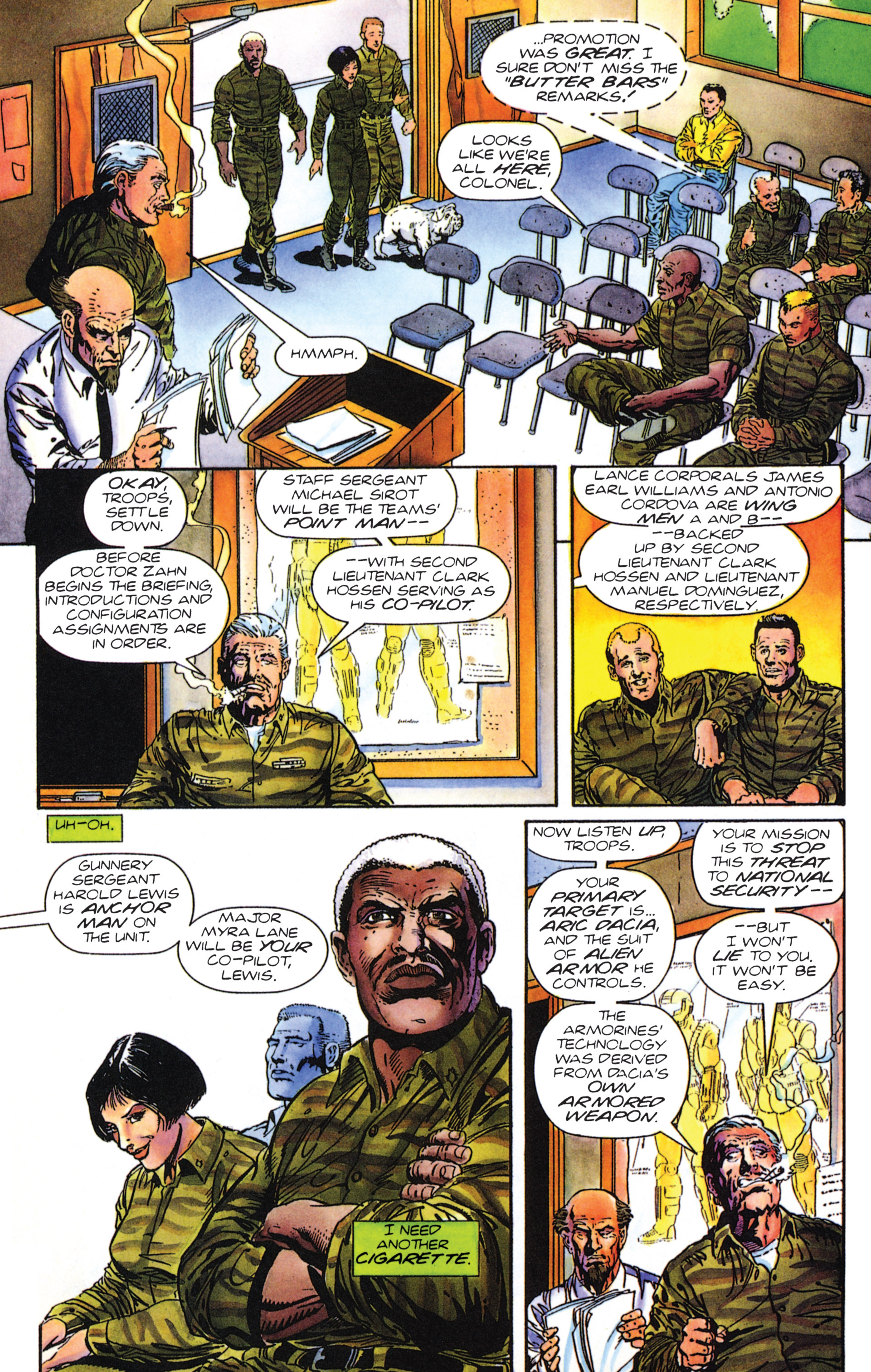 Read online Armorines comic -  Issue #0 - 11