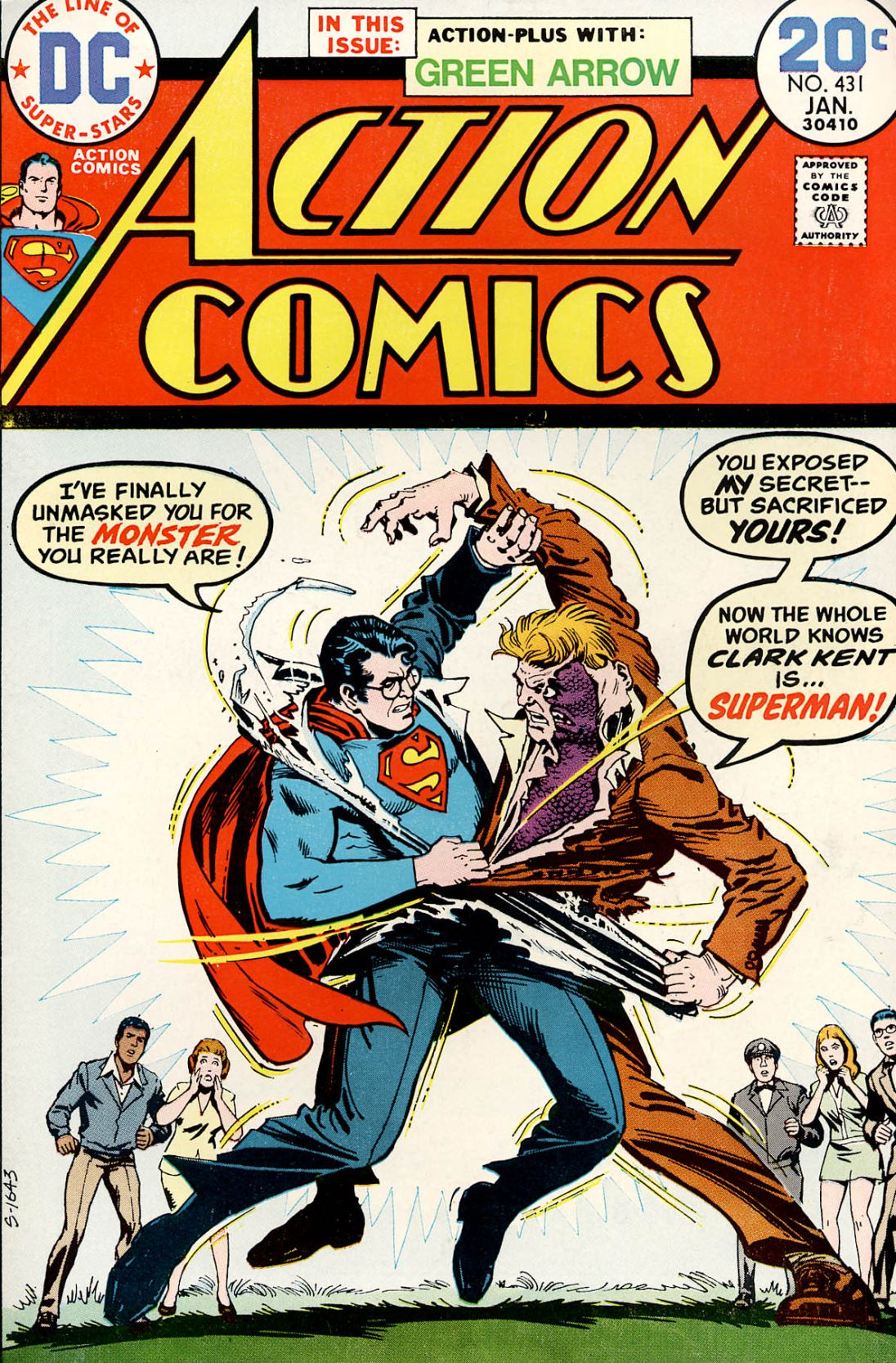 Read online Action Comics (1938) comic -  Issue #431 - 1