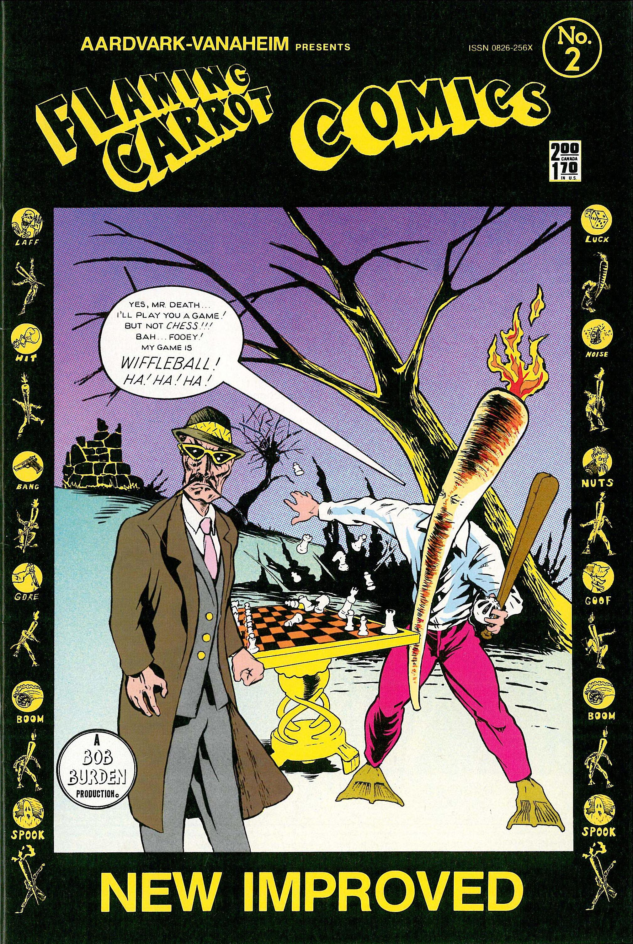 Read online Flaming Carrot Comics (1984) comic -  Issue #2 - 1