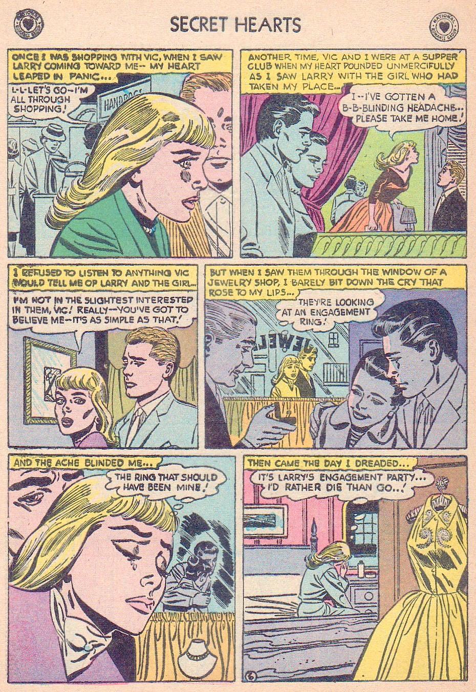 Read online Secret Hearts comic -  Issue #44 - 32