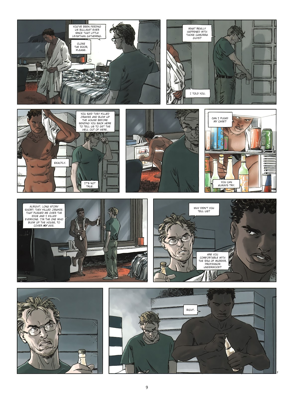 Read online Cutting Edge (2013) comic -  Issue #2 - 9