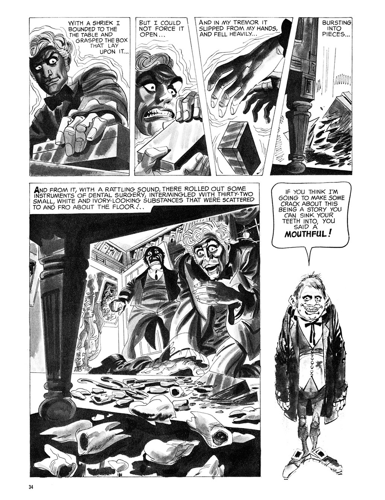 Read online Eerie Archives comic -  Issue # TPB 3 - 35