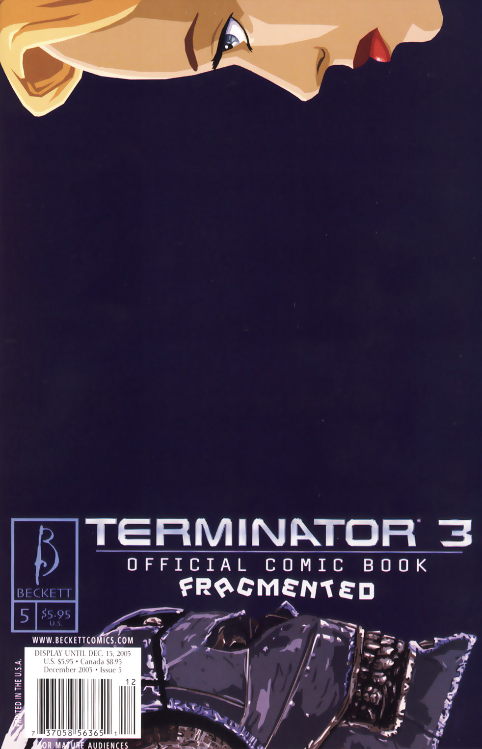 Terminator 3 issue 5 - Page 1