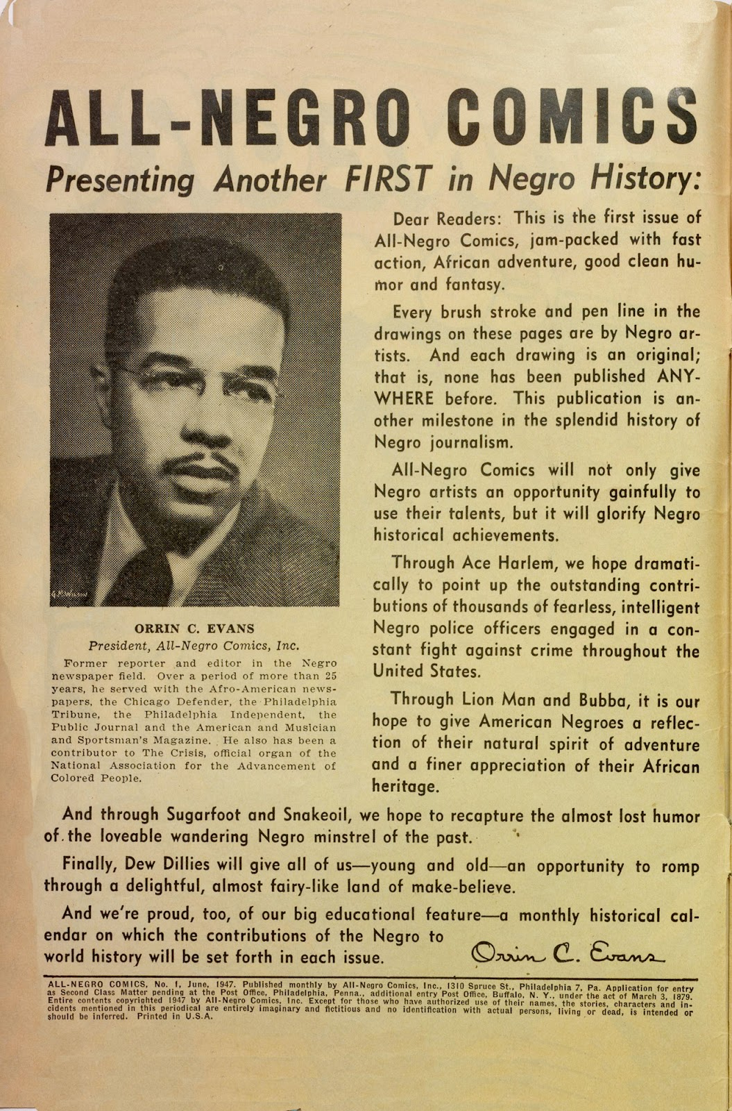 All-Negro Comics issue Full - Page 2