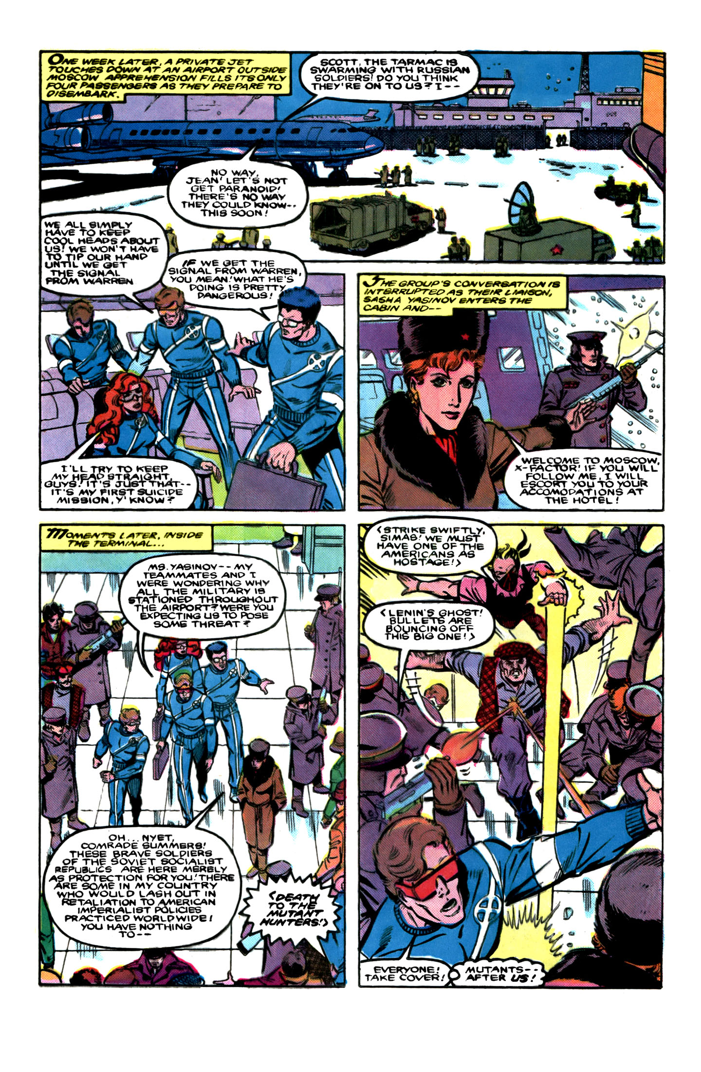 Read online X-Factor (1986) comic -  Issue # _ Annual 1 - 11