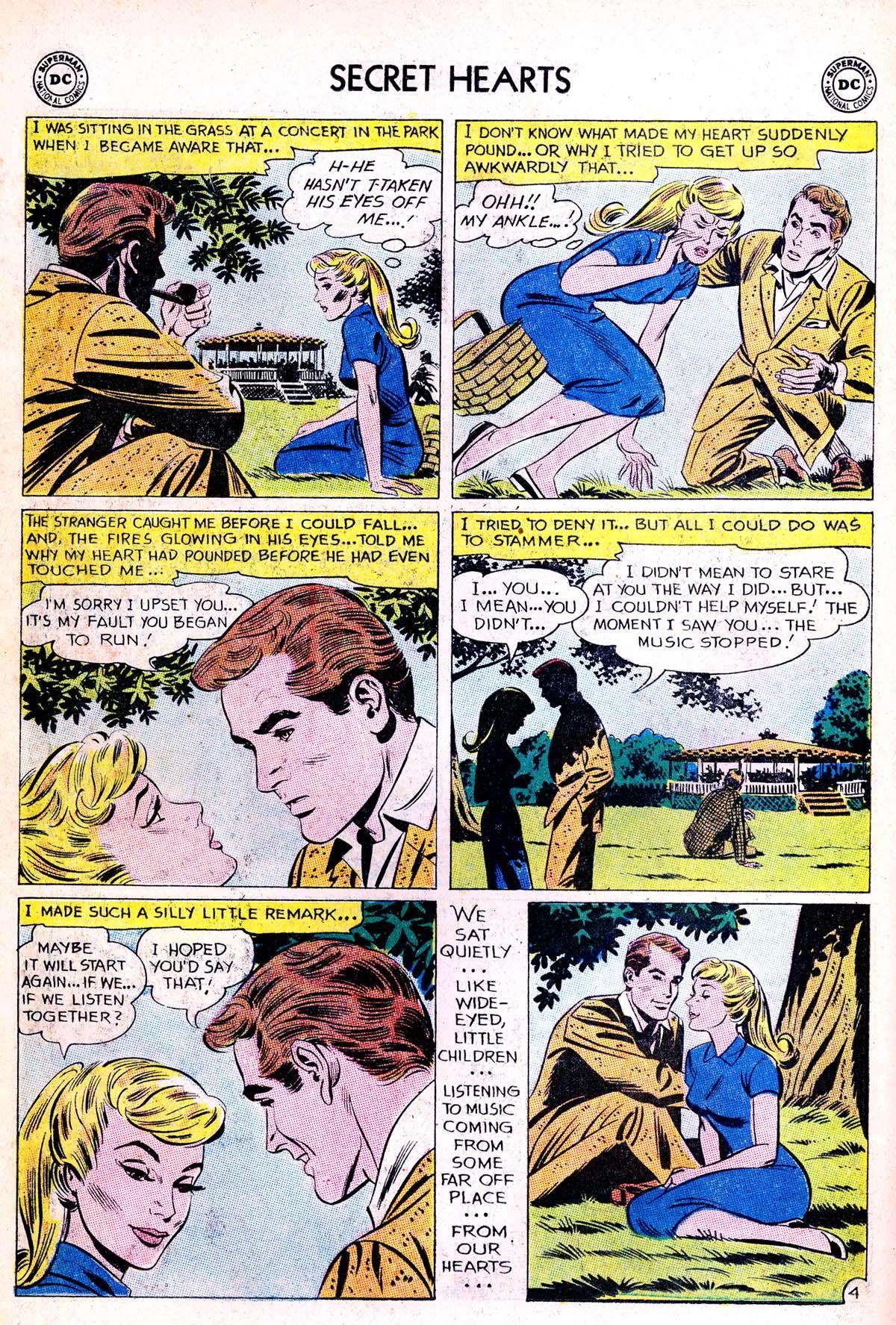 Read online Secret Hearts comic -  Issue #85 - 30