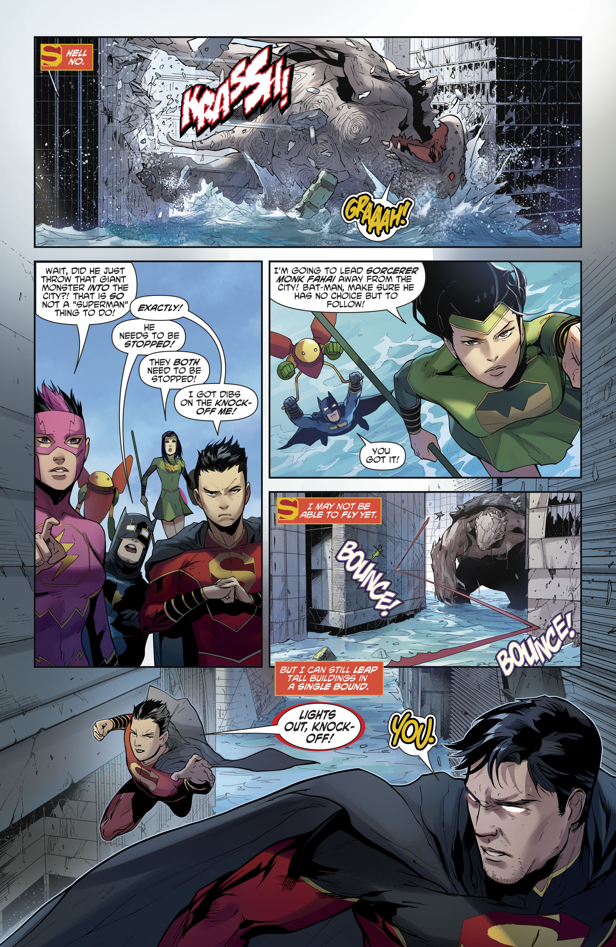 Read online New Super-Man comic -  Issue #12 - 6