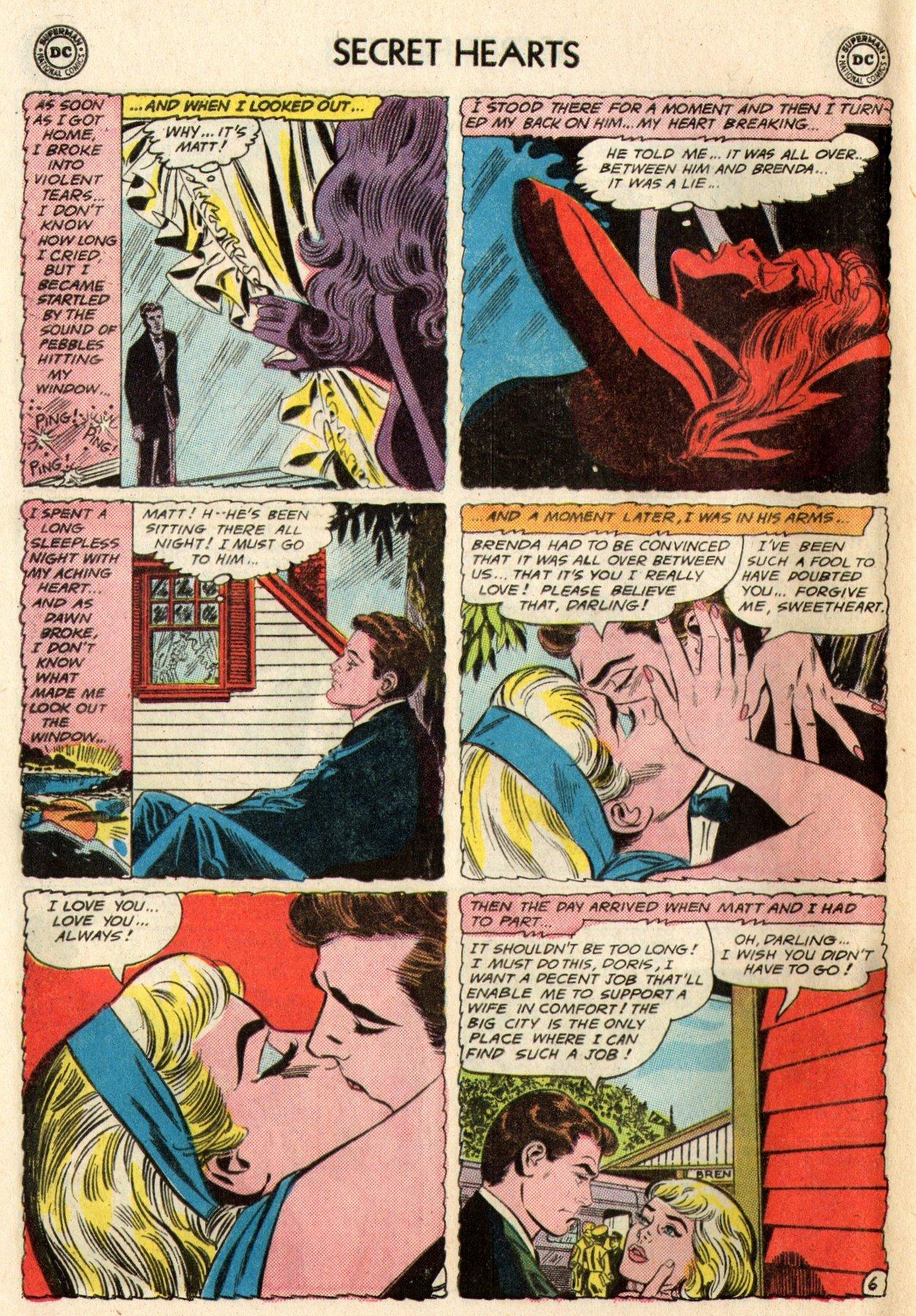 Read online Secret Hearts comic -  Issue #95 - 32