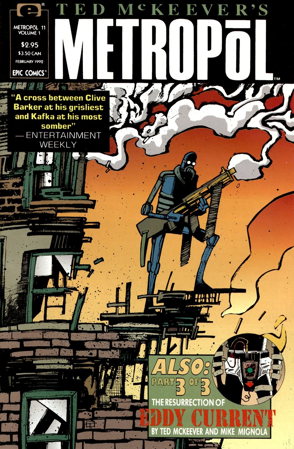 Read online Ted McKeever's Metropol comic -  Issue #11 - 1