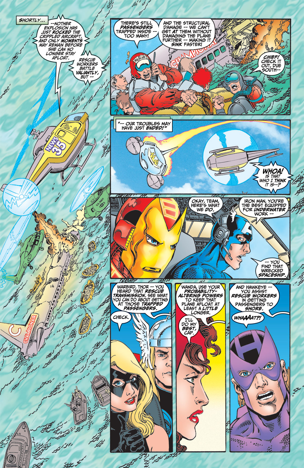 Read online Avengers (1998) comic -  Issue #5 - 9