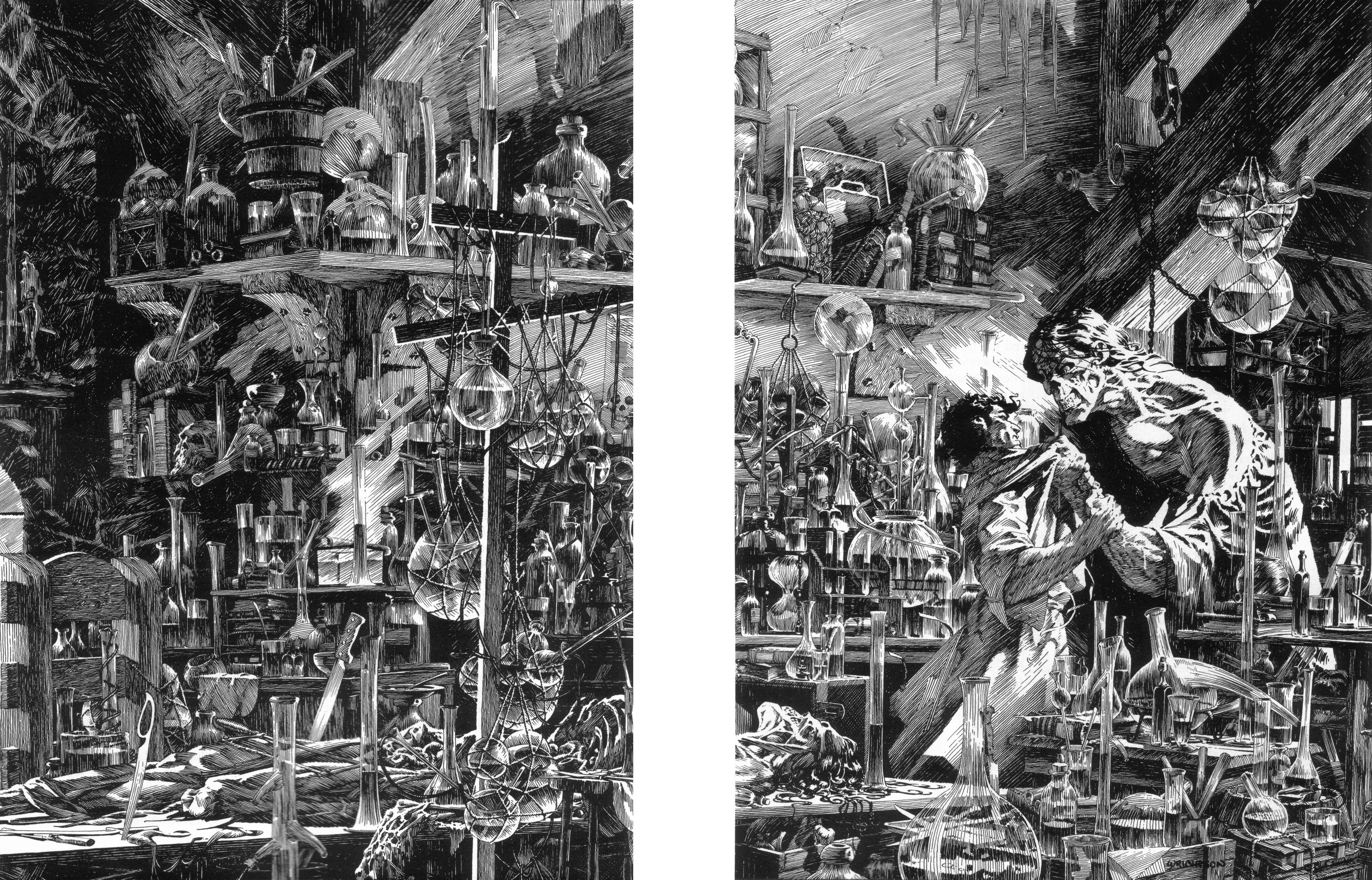 Read online Bernie Wrightson's Frankenstein comic -  Issue # Full - 35