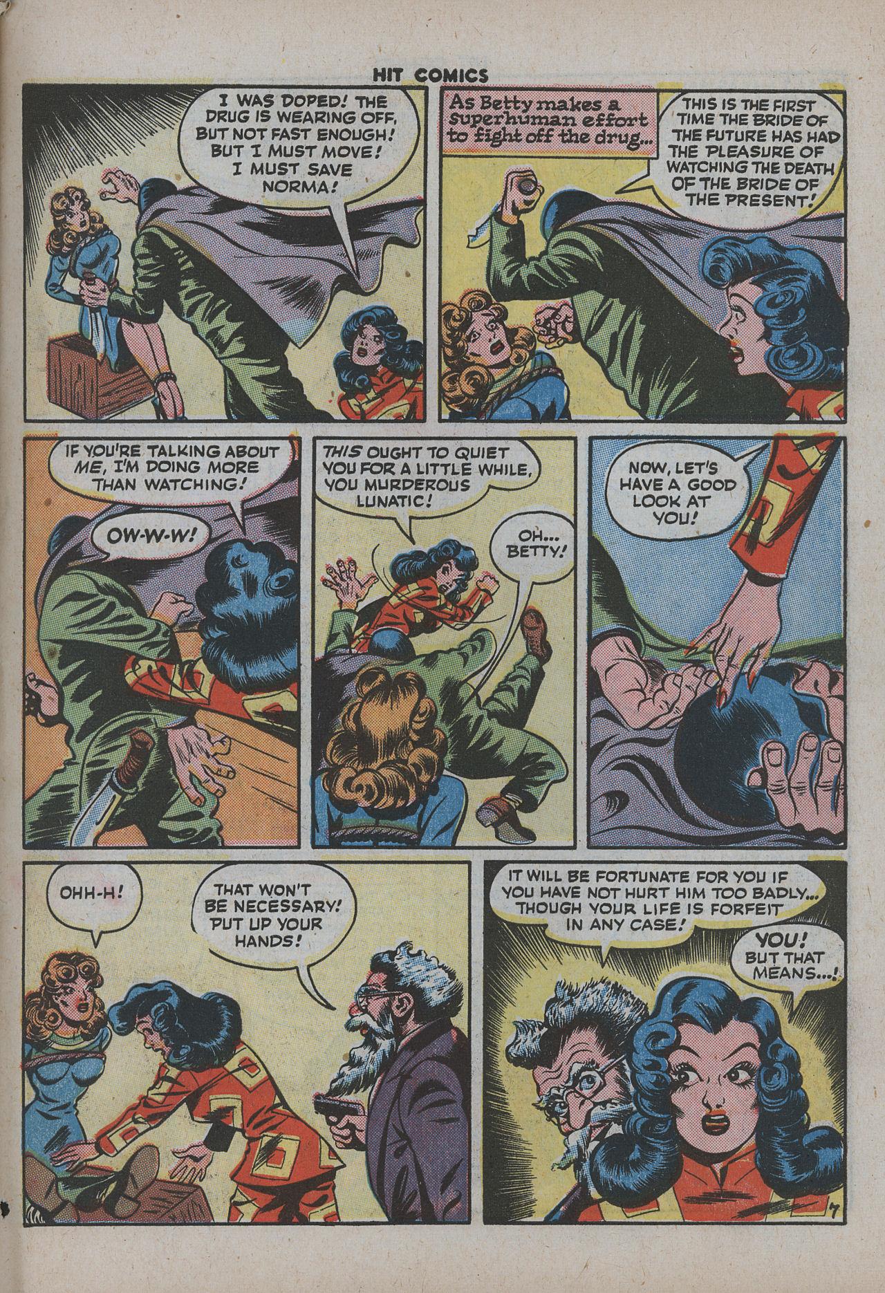 Read online Hit Comics comic -  Issue #38 - 60