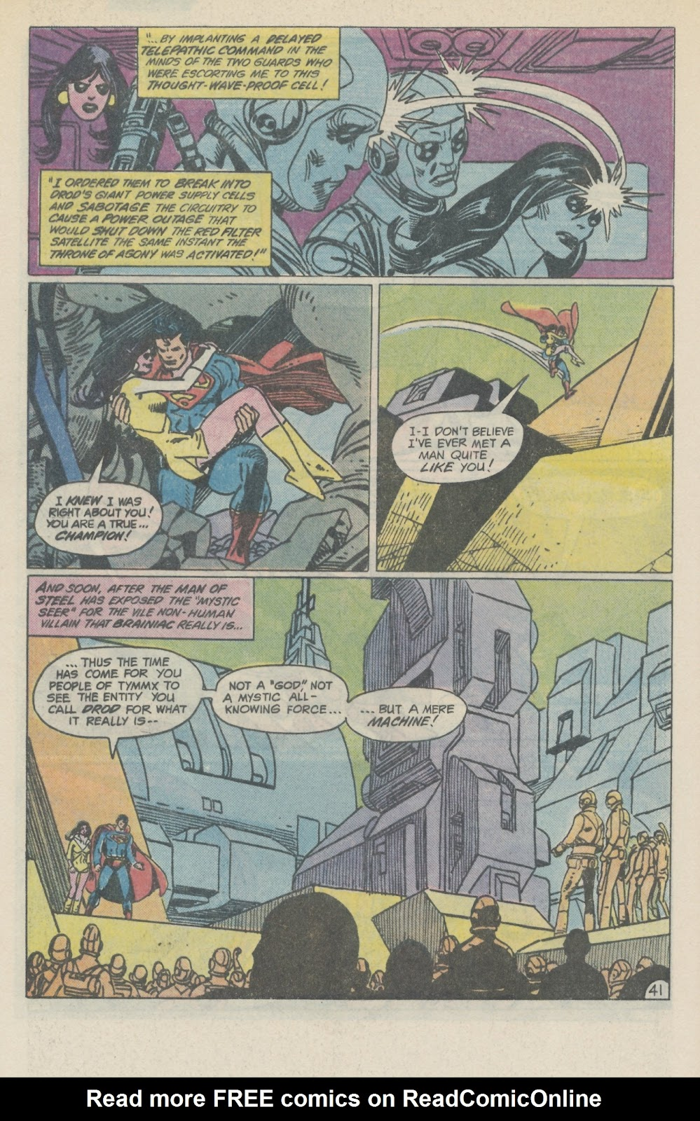 Read online Superman Special (1983) comic -  Issue #2 - 47