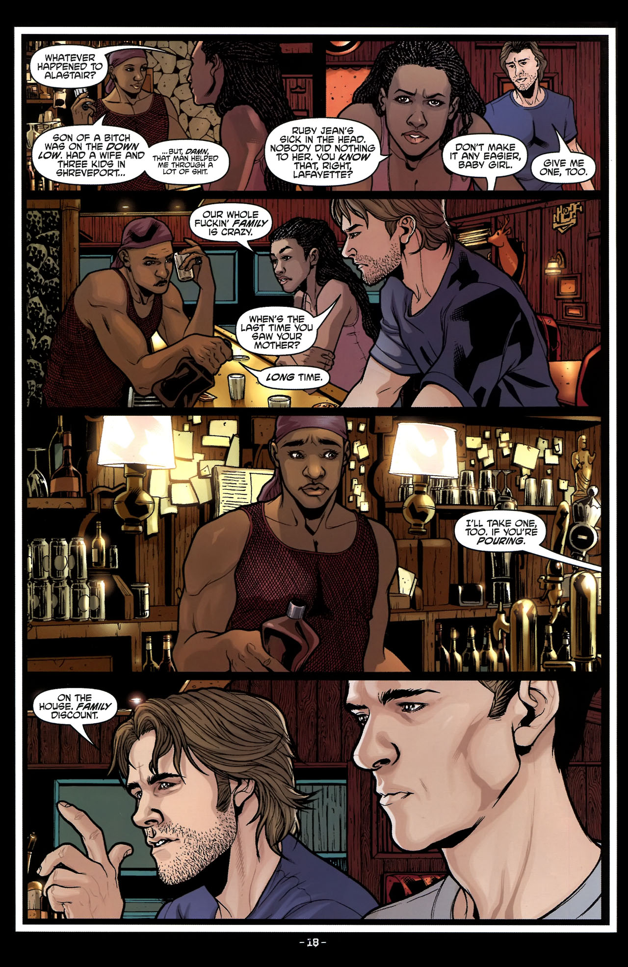 Read online True Blood (2010) comic -  Issue #5 - 21