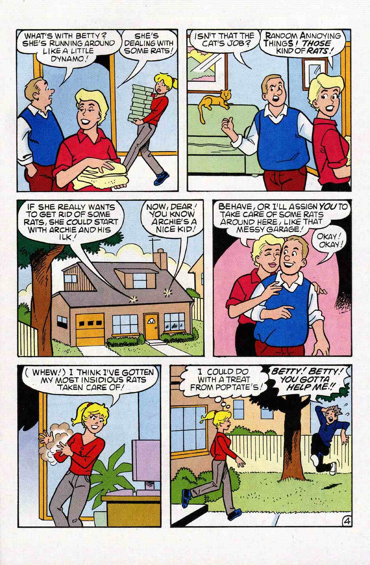 Read online Archie's Girls Betty and Veronica comic -  Issue #187 - 29